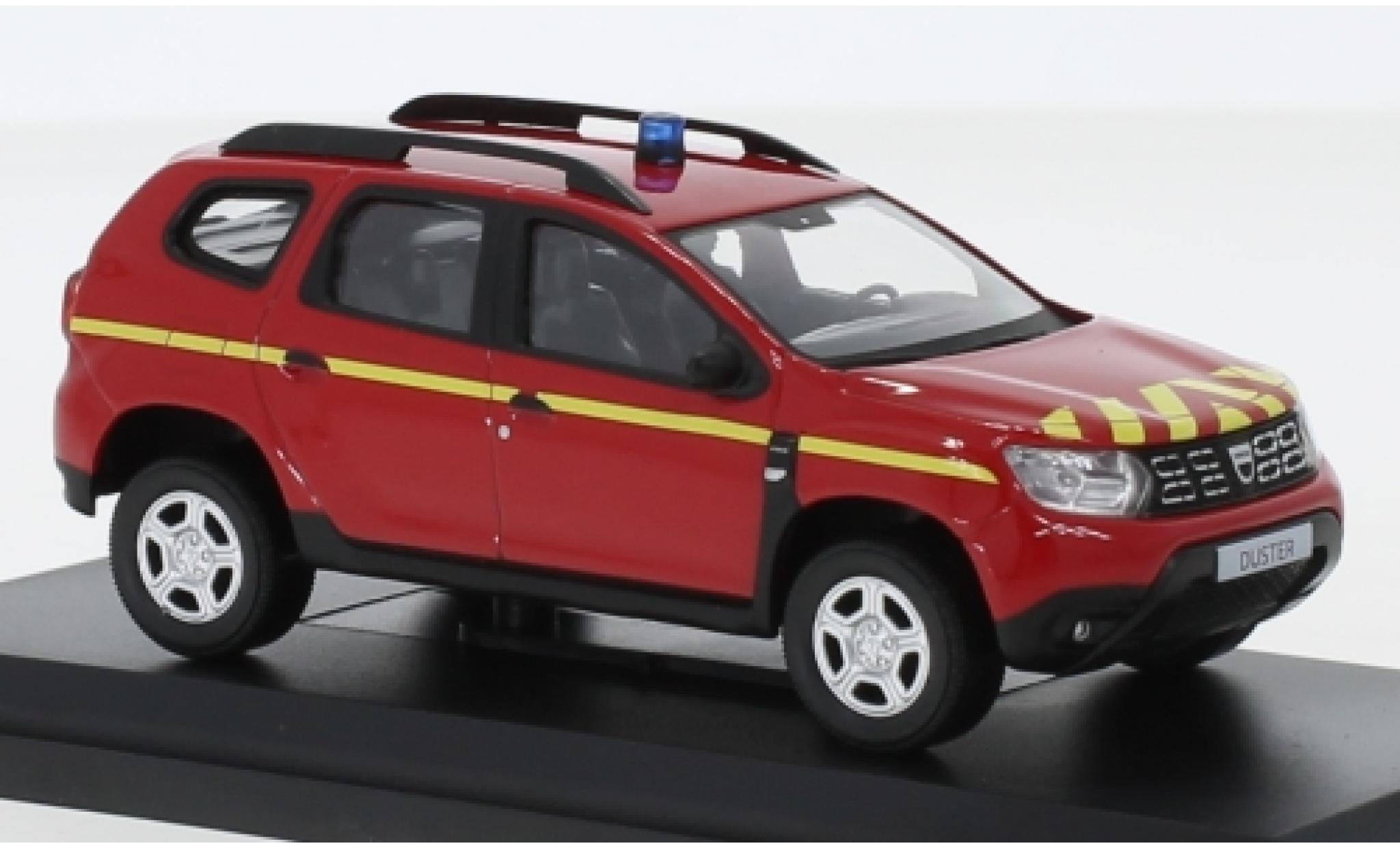 Dacia Duster 1/43 Norev Pompiers 2018
