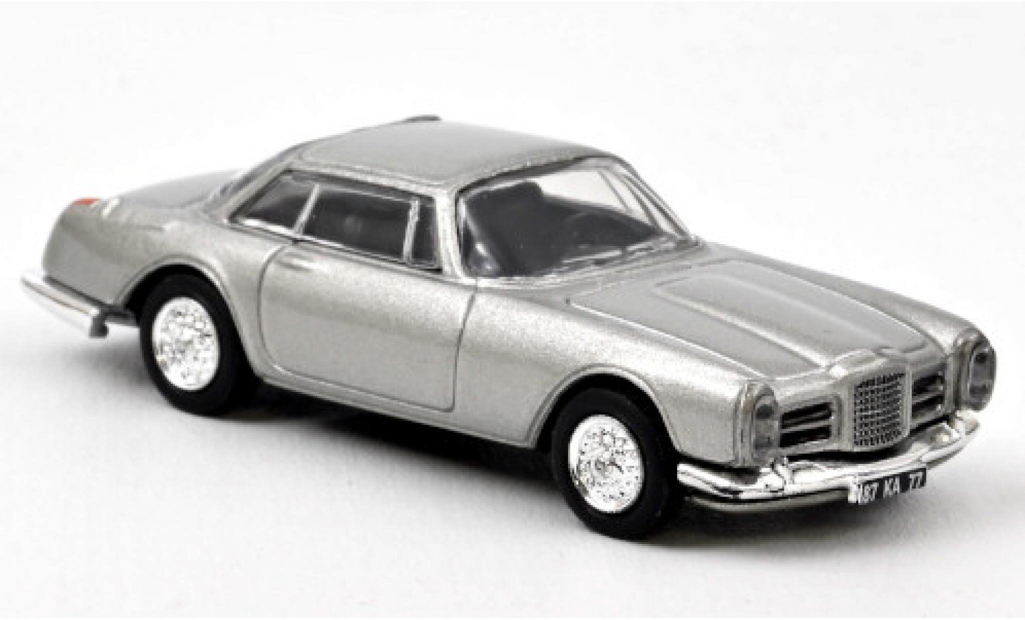 Facel Vega II 1/87 Norev Coupe grise 1961