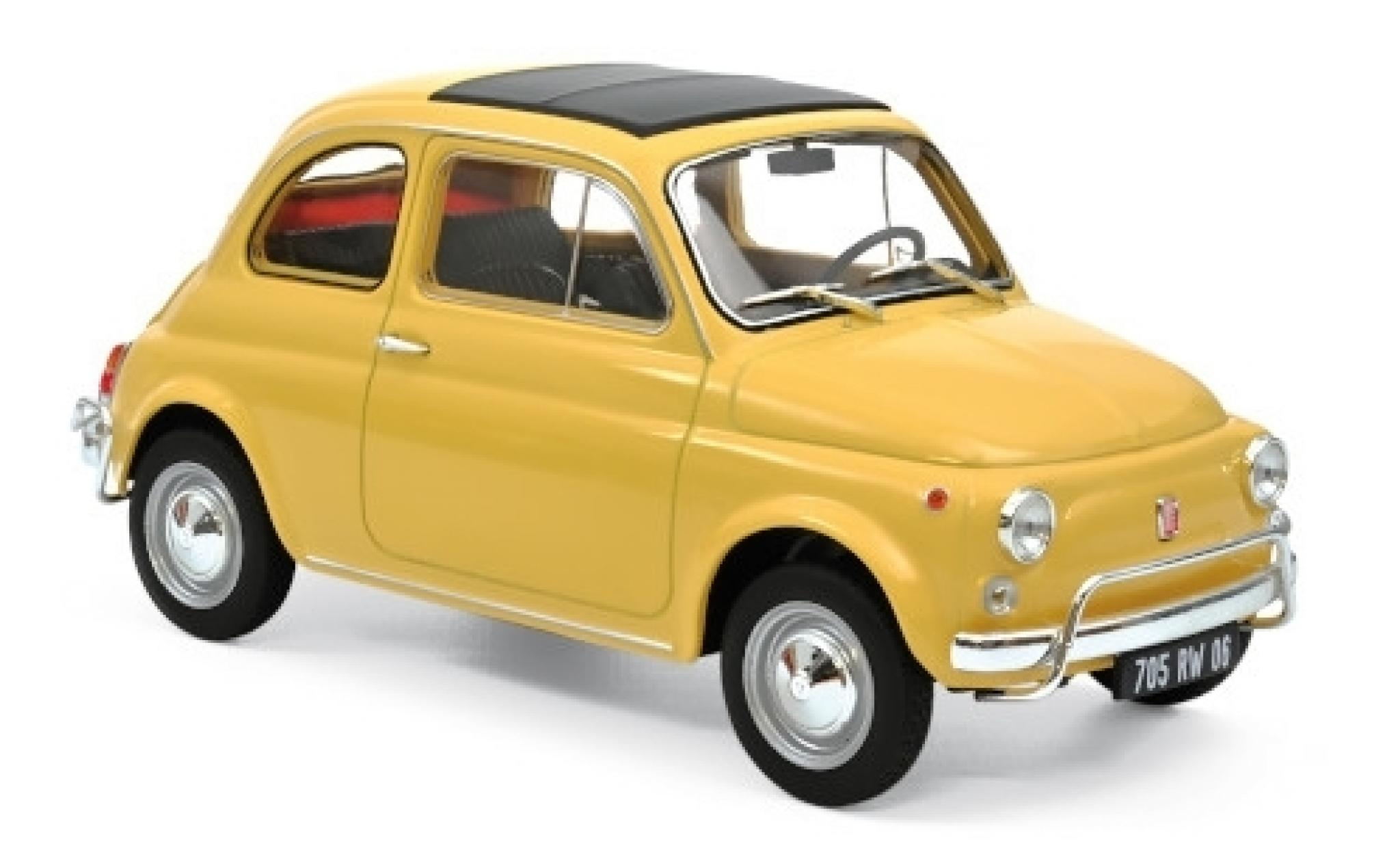 Fiat 500 1/18 Norev L beige 1968