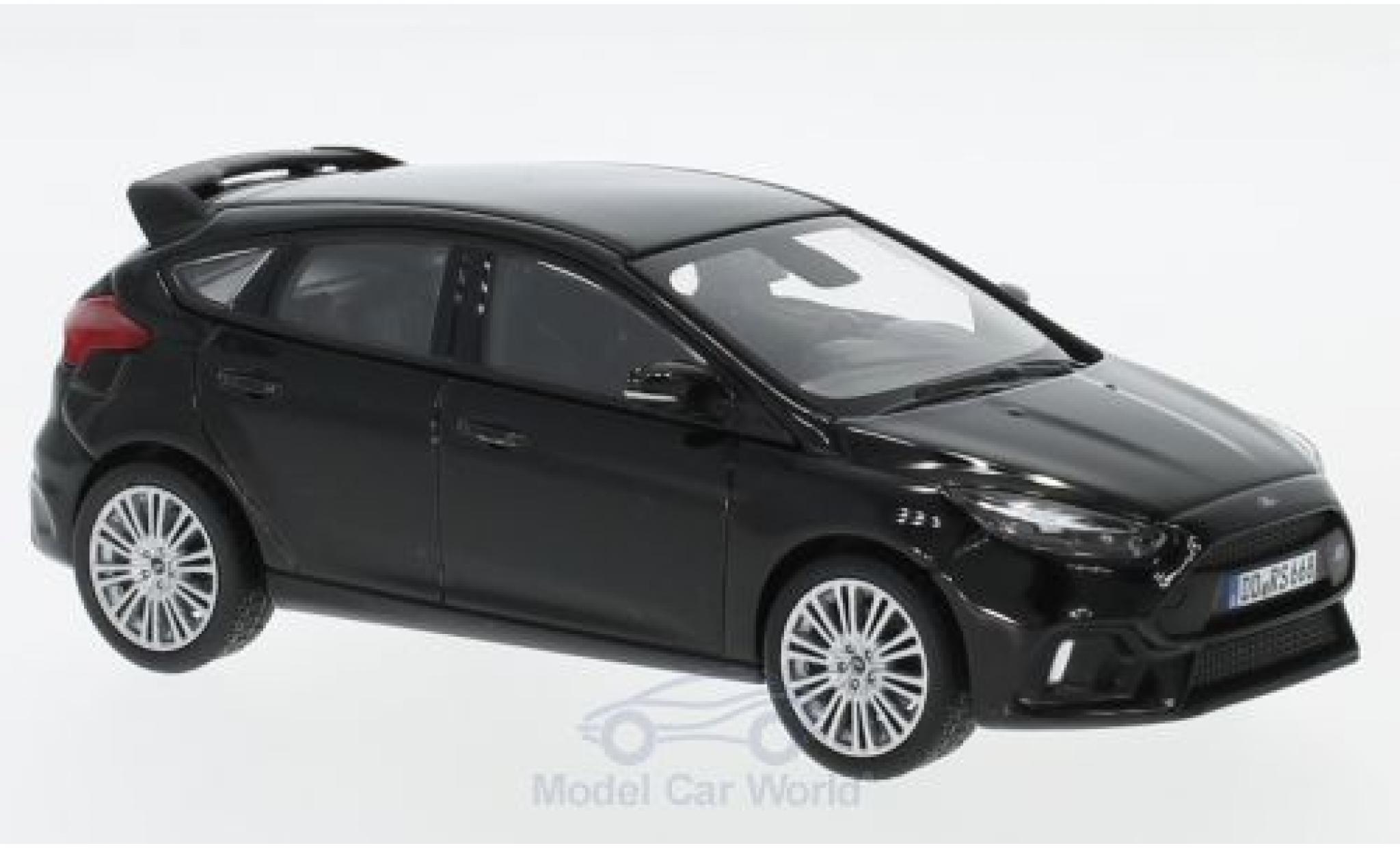 Ford Focus RS 1/43 Norev MK III noire 2016