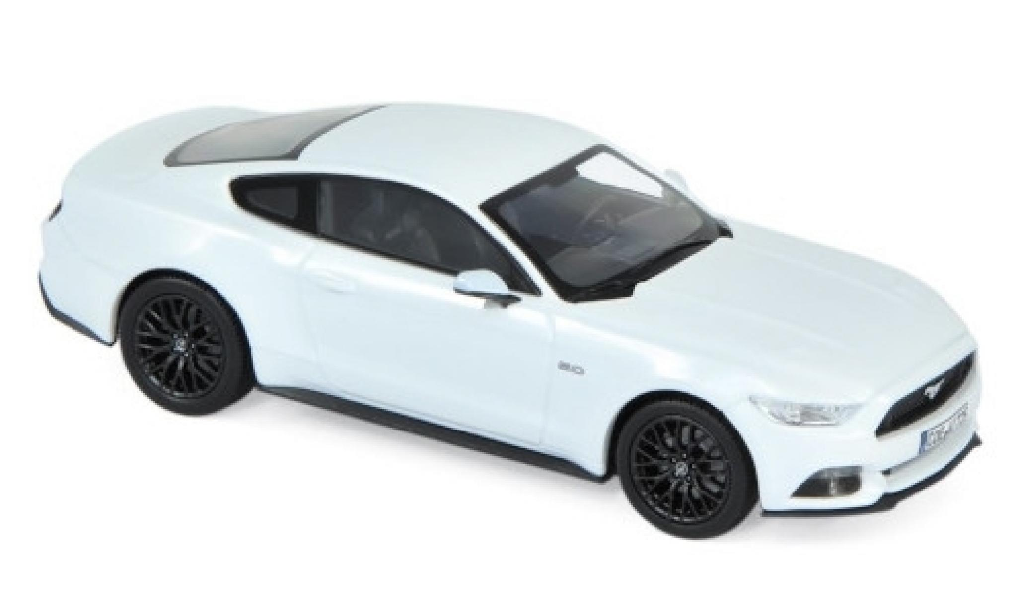 Ford Mustang 1/43 Norev GT blanche 2015