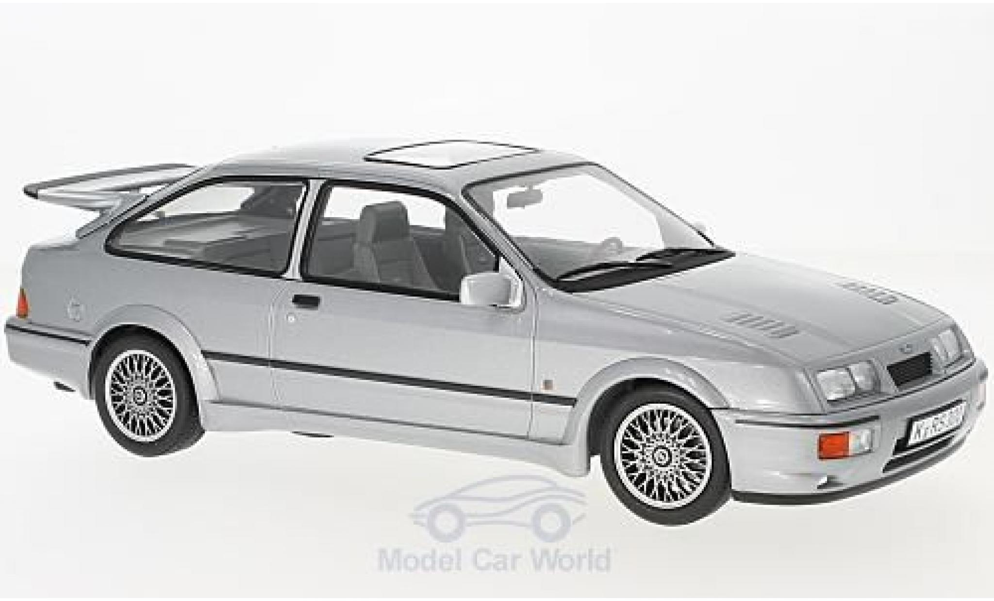 Ford Sierra Cosworth 1/18 Norev  Cosworth metallic-grise 1986