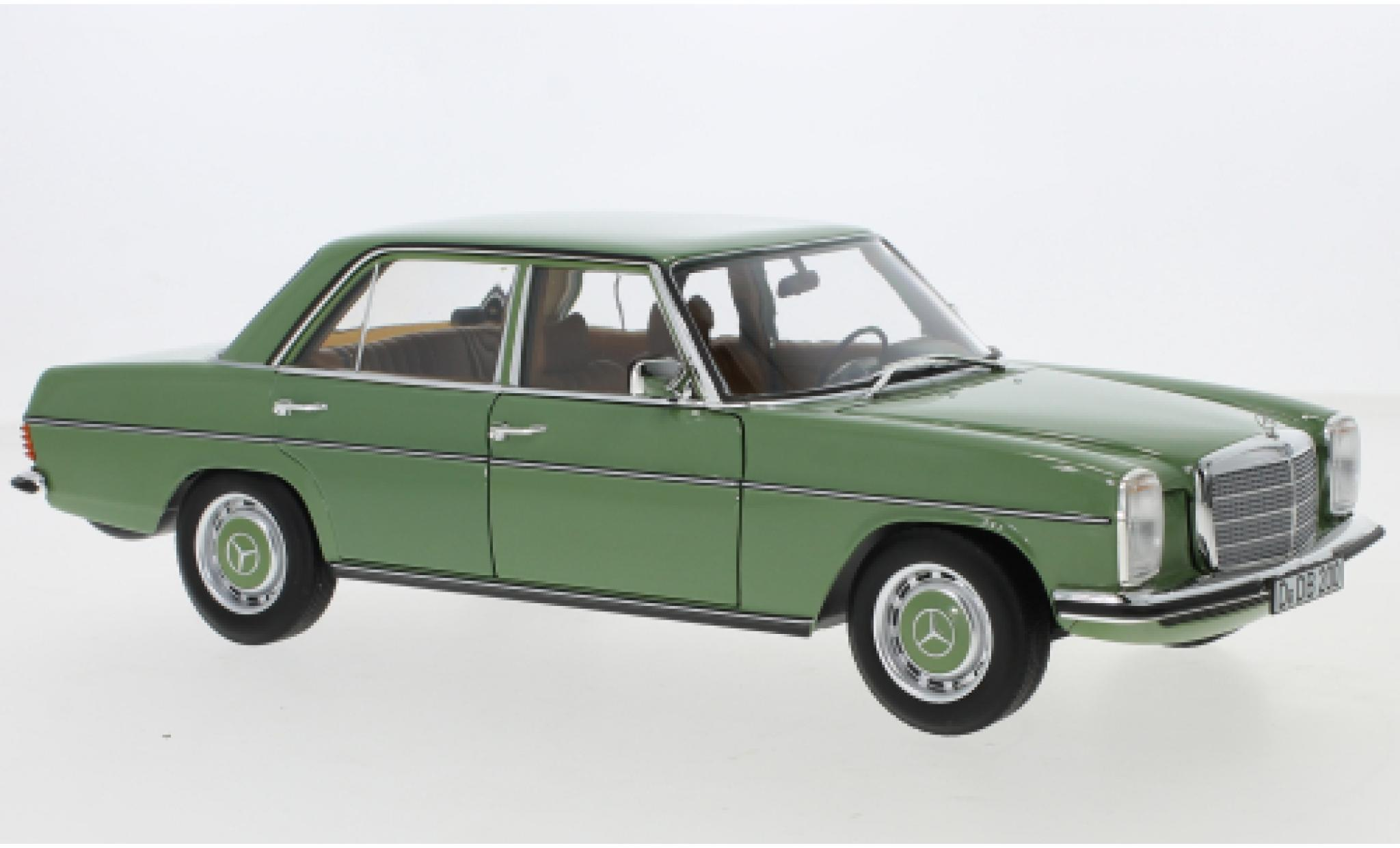 Mercedes 200 1/18 Norev /8 verte 1973