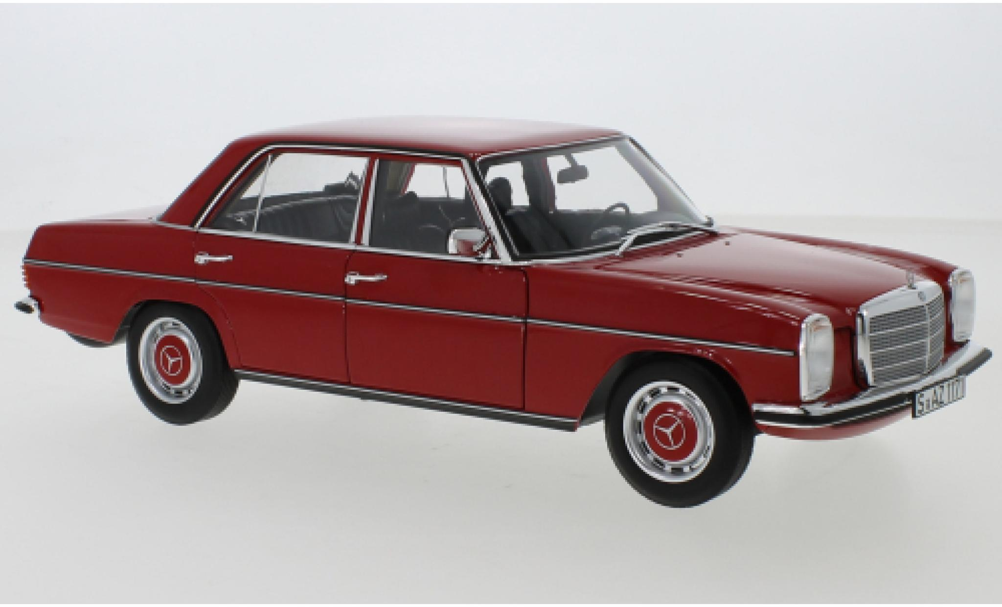 Mercedes 200 1/18 Norev /8 (W115) rouge 1973