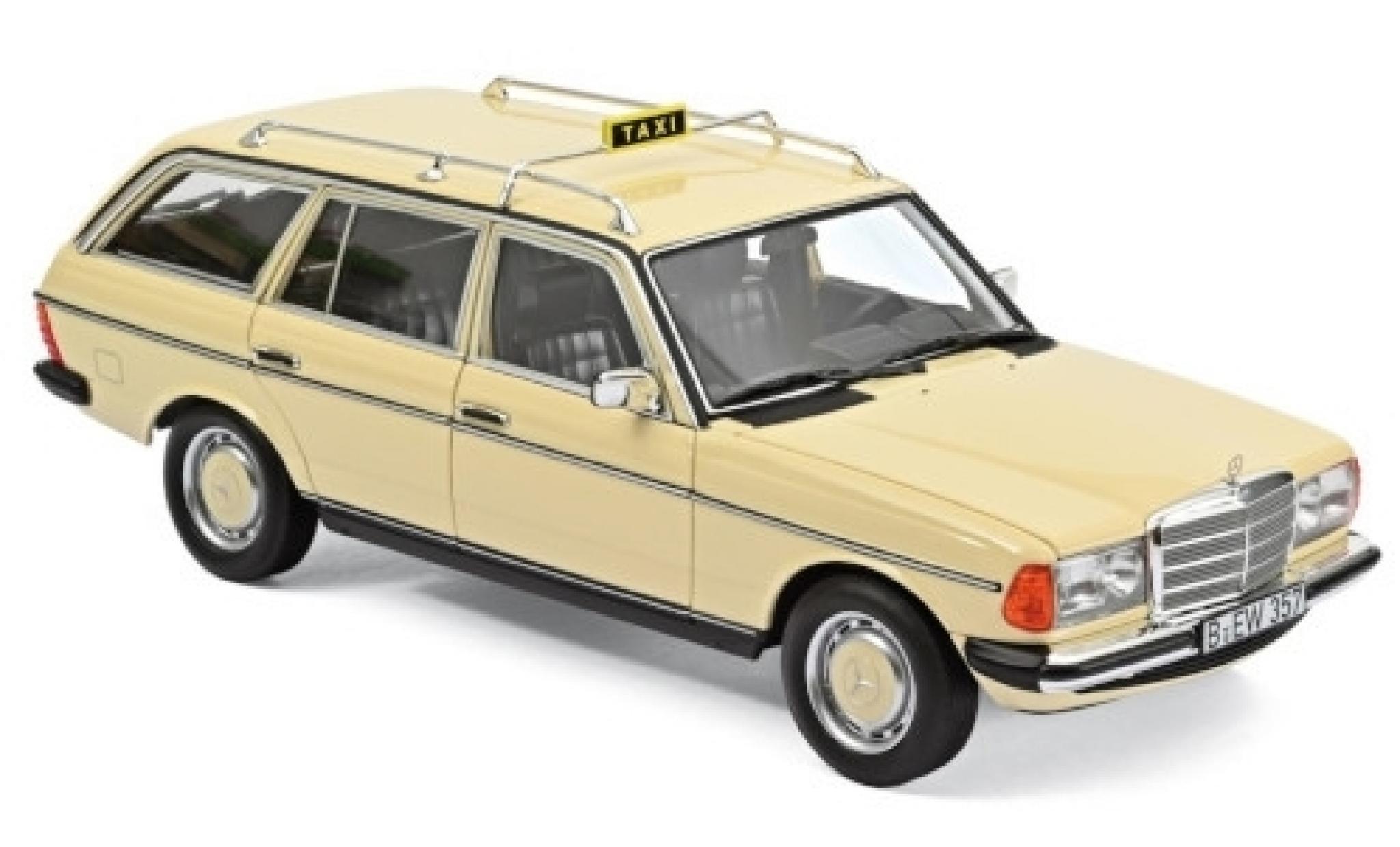 Mercedes 200 1/18 Norev T (S123) beige Taxi (D) 1982