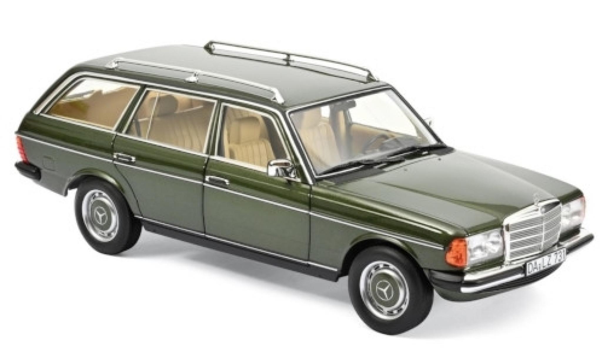 Mercedes 200 1/18 Norev T (S123) metallise verte 1982