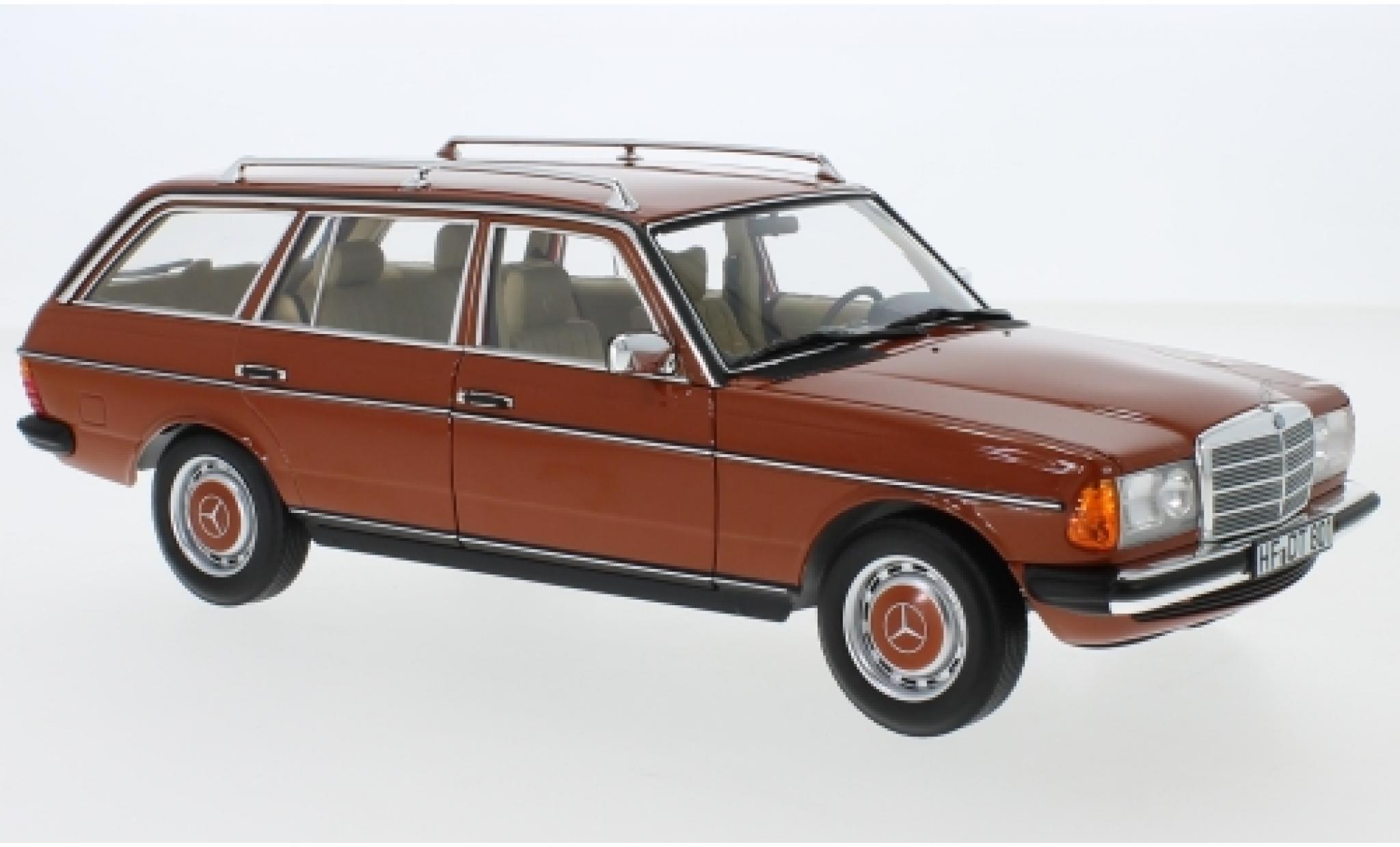 Mercedes 200 1/18 Norev T (S123) rouge 1982