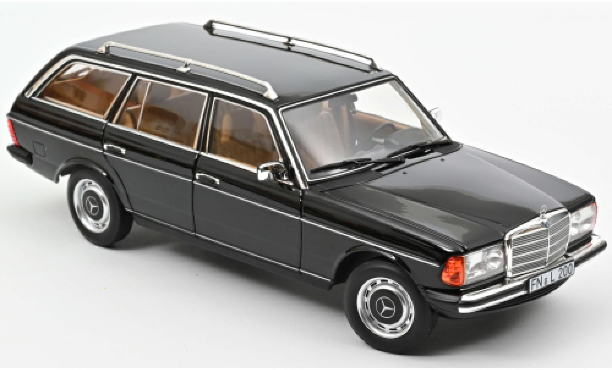 Mercedes 200 1/18 Norev T (S123) noire 1982