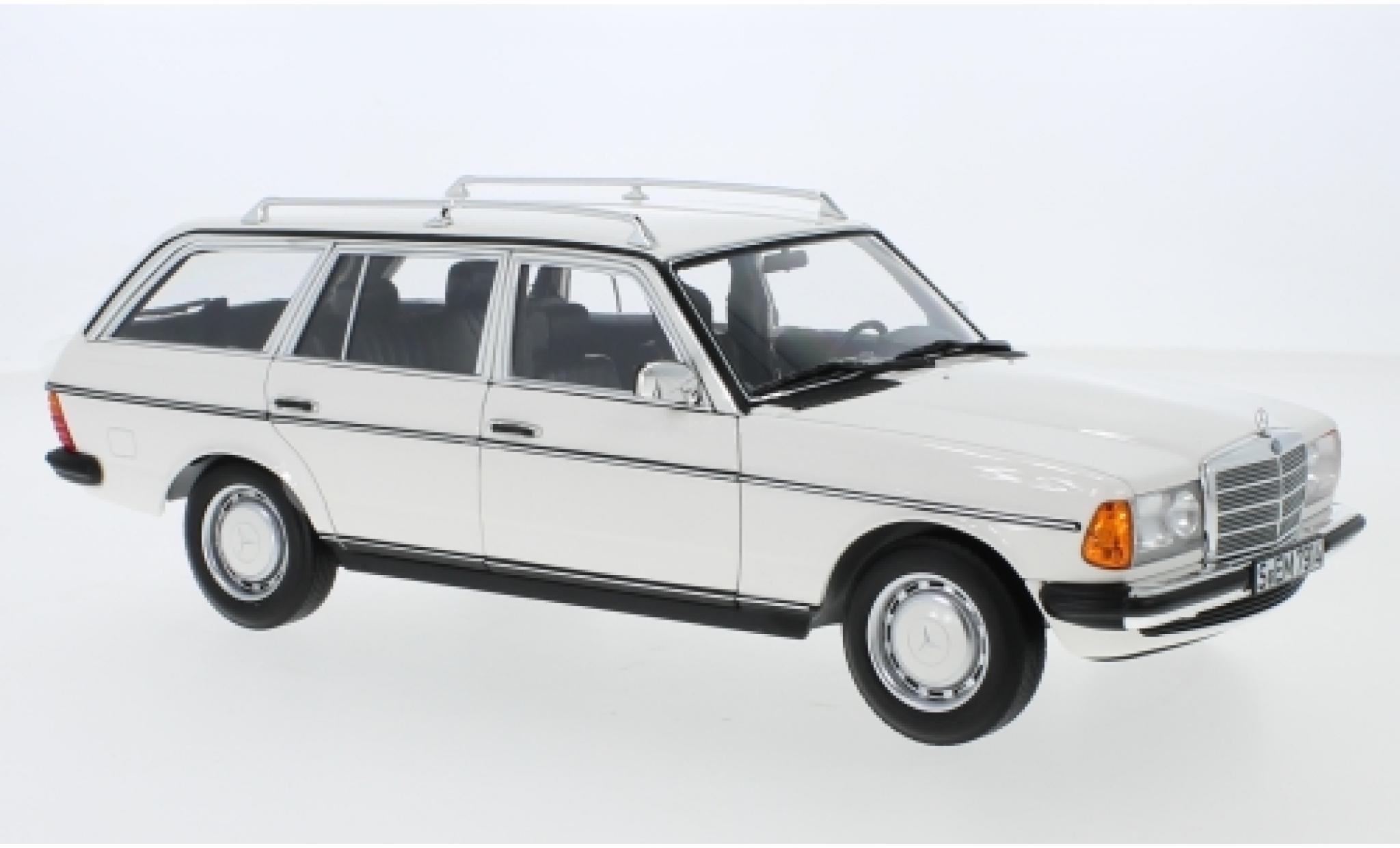Mercedes 200 1/18 Norev T (S123) blanche 1982