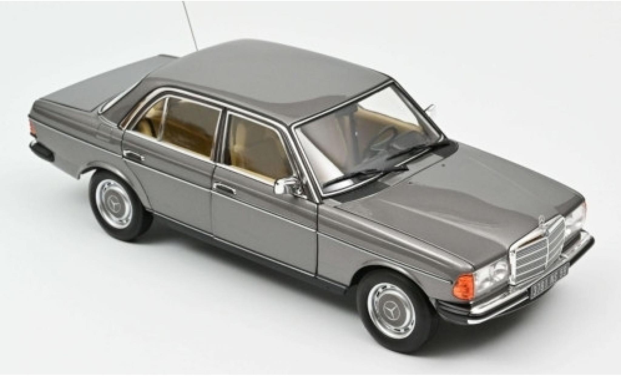 Mercedes 200 1/18 Norev (W123) metallise grise 1982