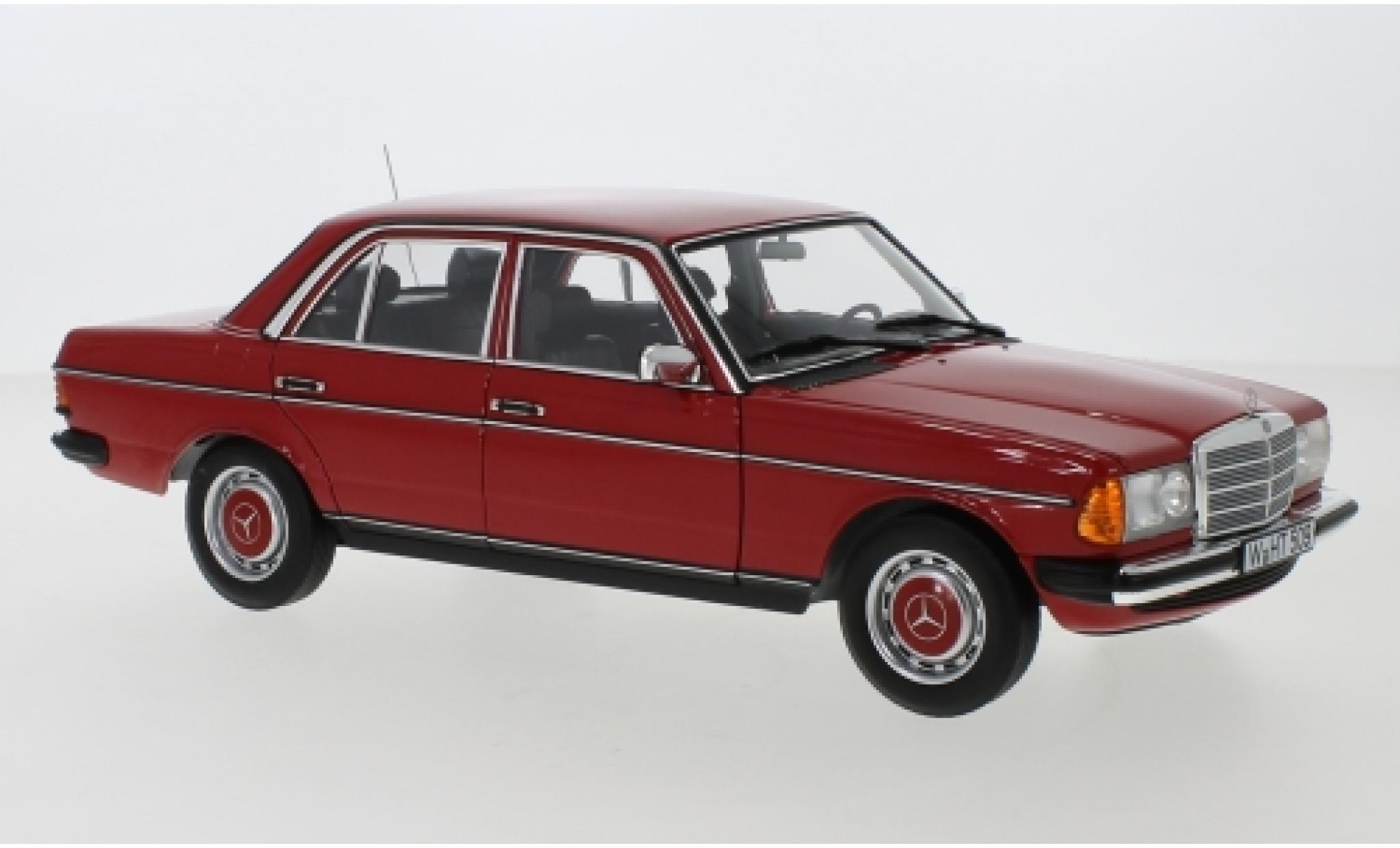 Mercedes 200 1/18 Norev (W123) rouge 1982