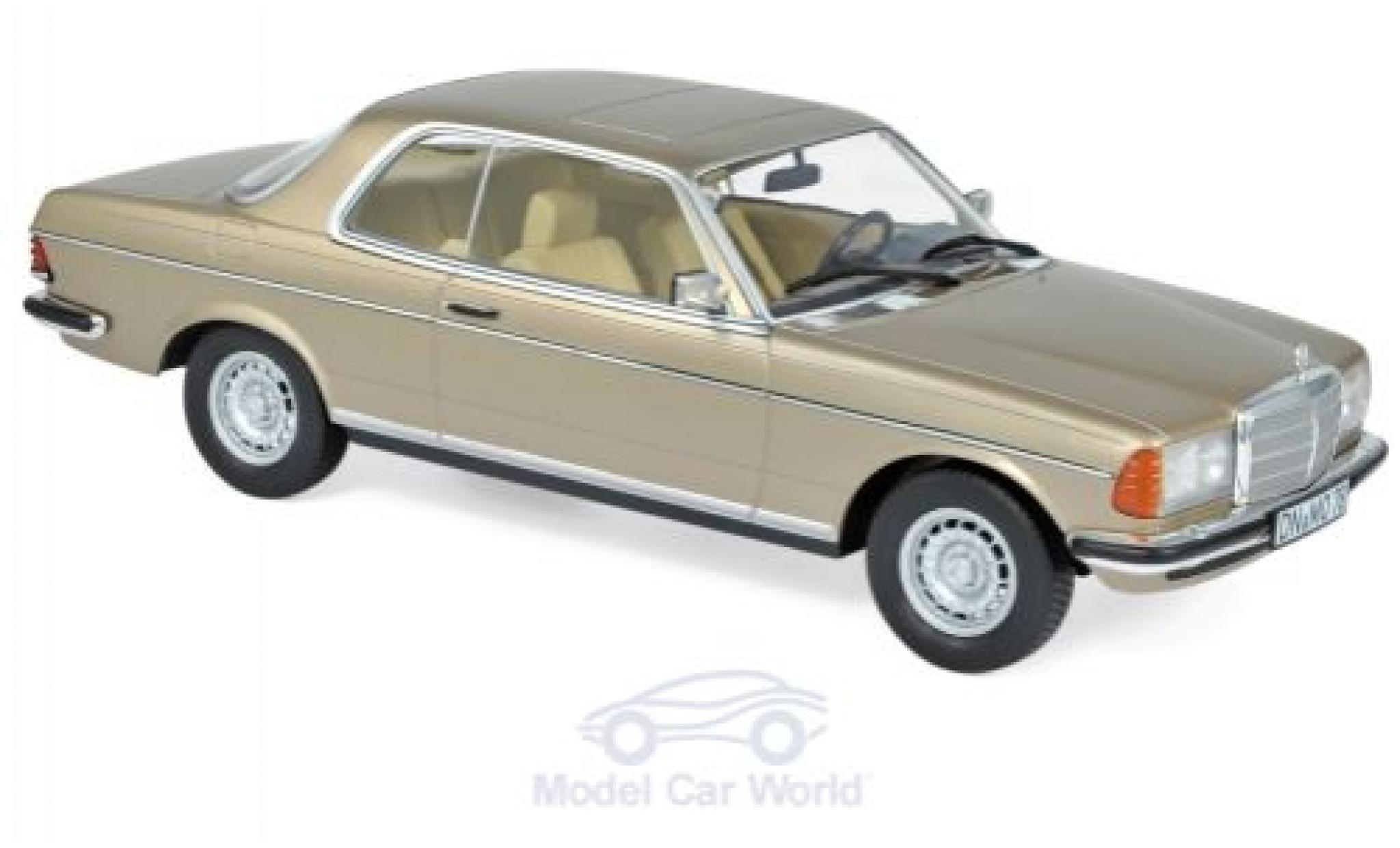 Mercedes 280 1/18 Norev CE (C123) métallisé beige 1980