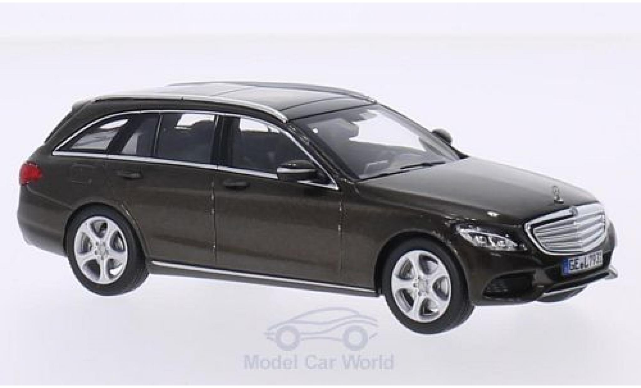 Mercedes Classe C 1/43 Norev T-Modell (S205) metallise brown 2014