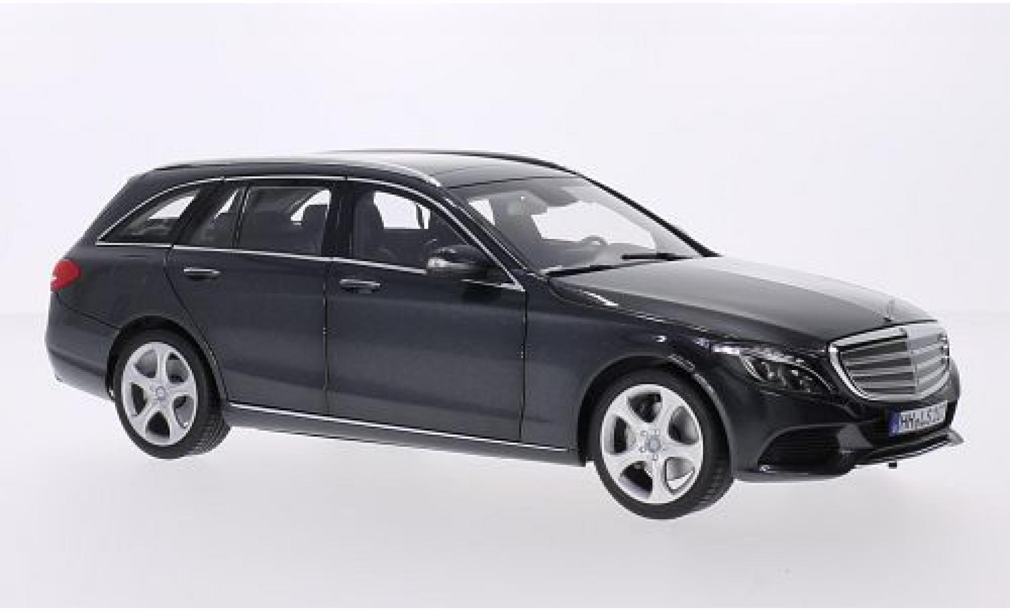 Mercedes Classe C 1/18 Norev T-Modell (S205) metallise grise 2014