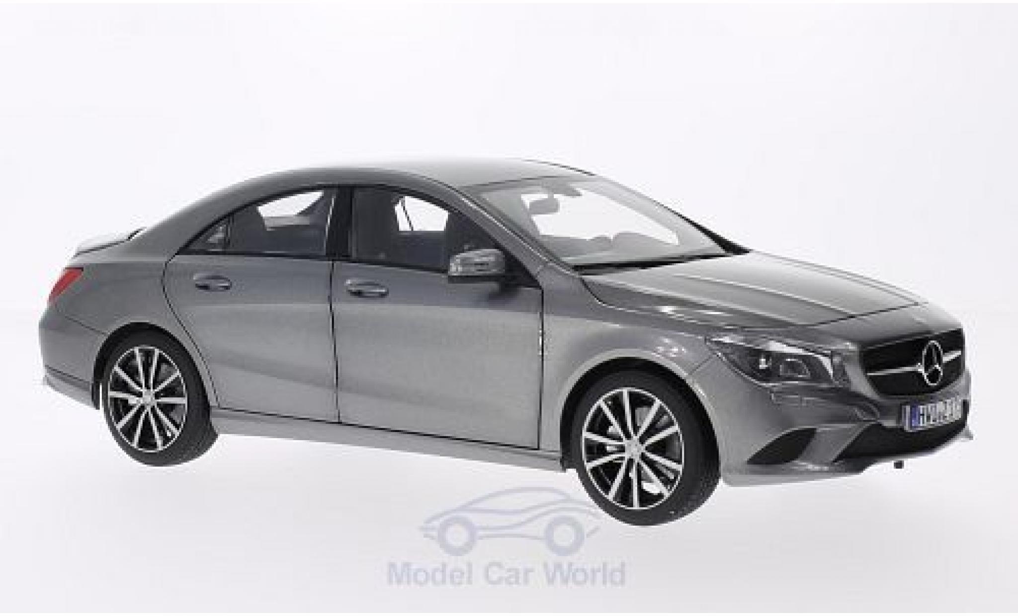 Mercedes CLA 1/18 Norev CLClasse A metallic grey 2013