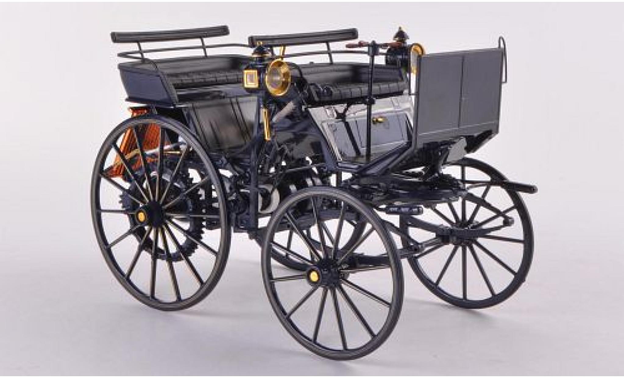Mercedes Daimler 1/18 Norev Motorkutsche bleue 1886