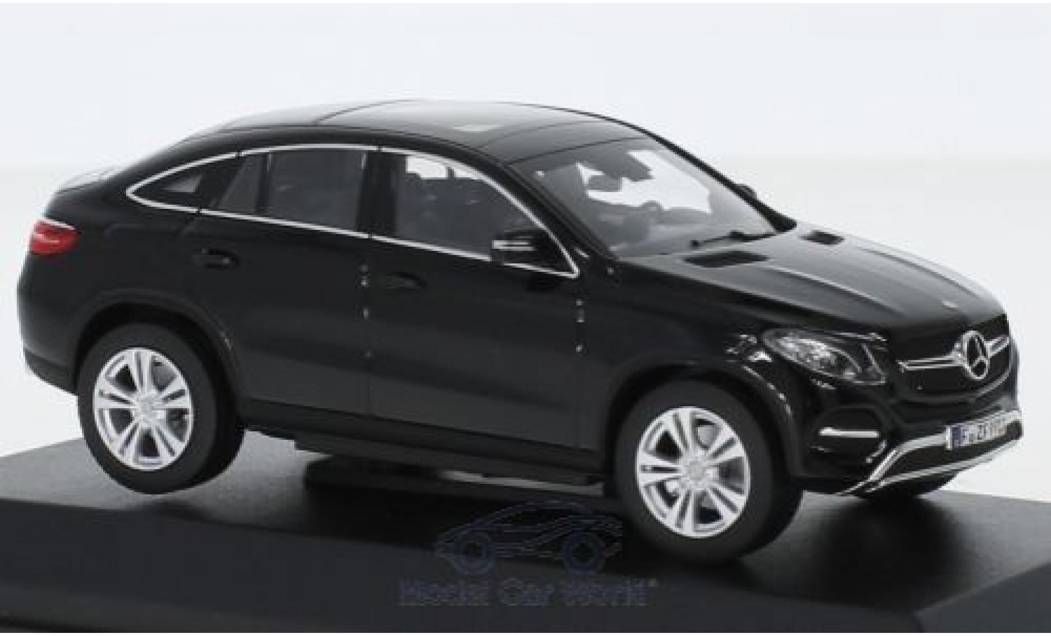 Mercedes Classe GLE 1/43 Norev GLE Coupe noire 2015