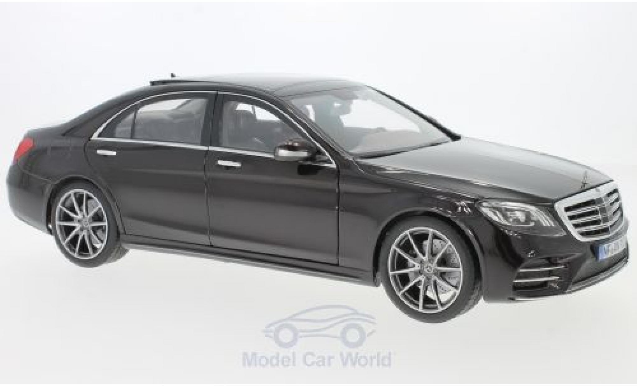 Mercedes CLA 1/18 Norev S-Class AMG Line metallise noire 2018