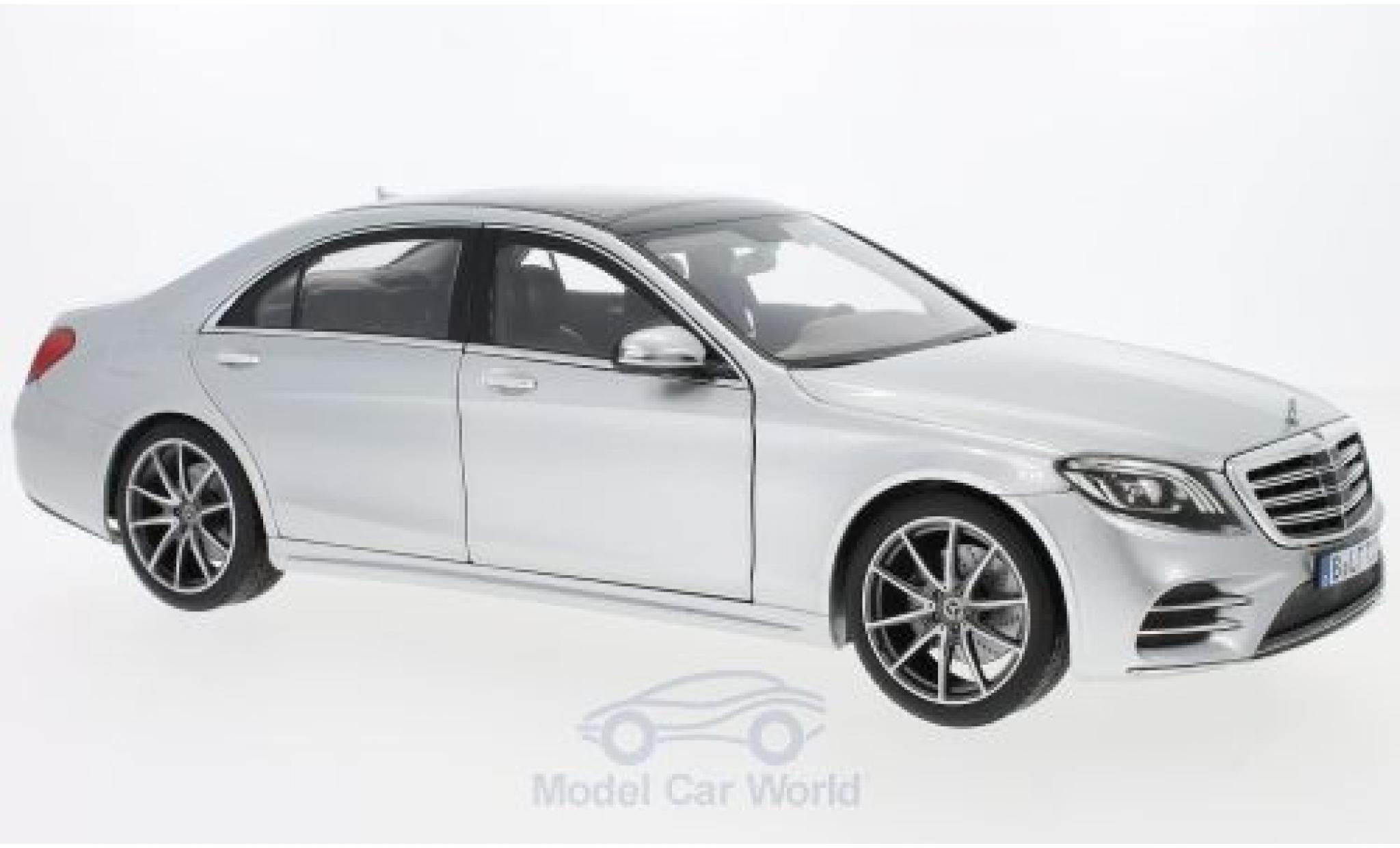 Mercedes CLA 1/18 Norev S-Class AMG Line grise 2018