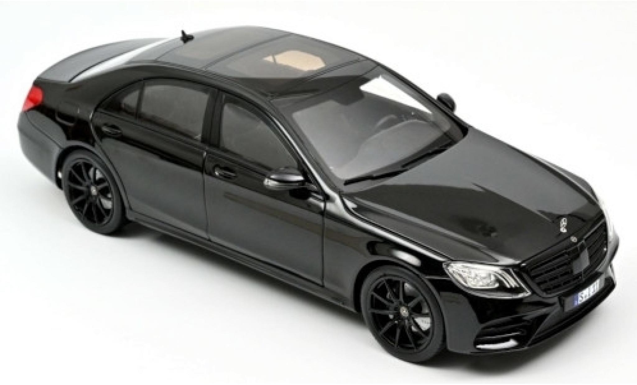 Mercedes Classe S 1/18 Norev (W222) AMG-Line noire 2018