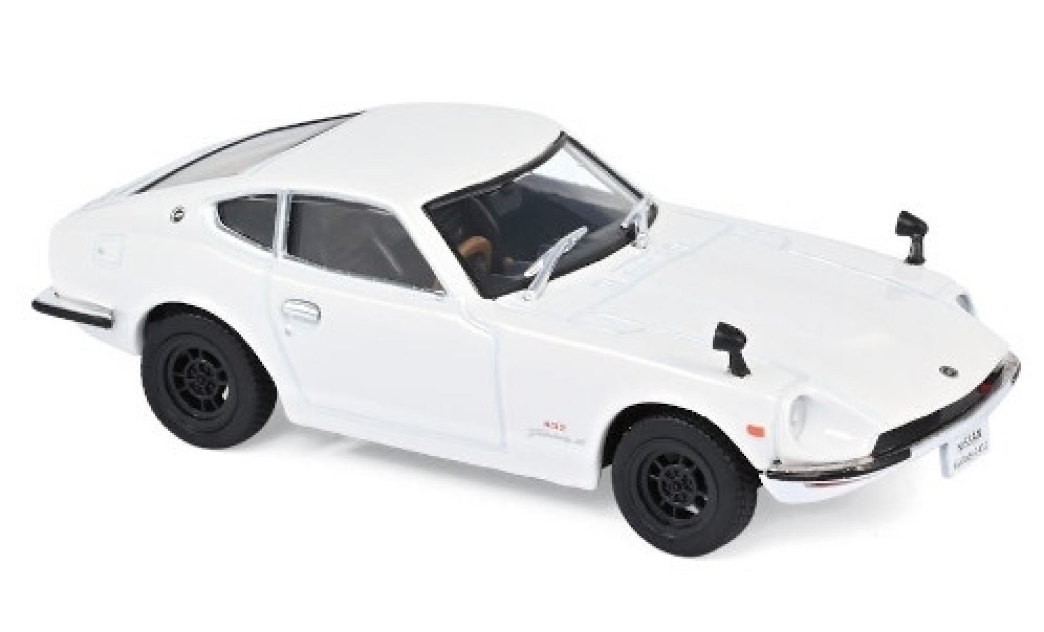 Nissan Fairlady Z 1/43 Norev 432 blanche RHD 1969