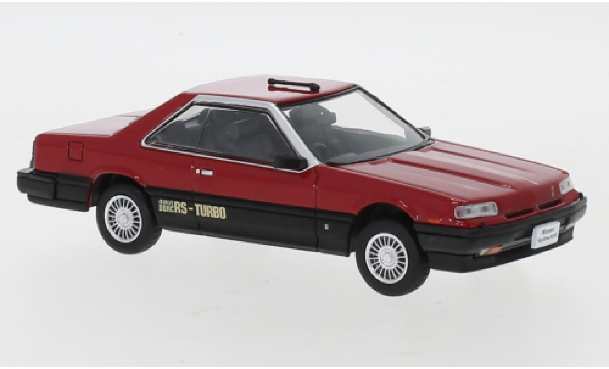 Nissan Skyline 1/43 Norev Hardtop 2000 Turbo RS-X (R30) red/matt-black RHD 1983