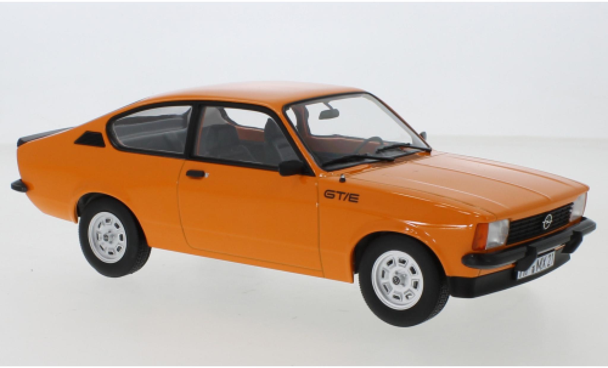 Opel Kadett 1/18 Norev C GT/E orange 1977
