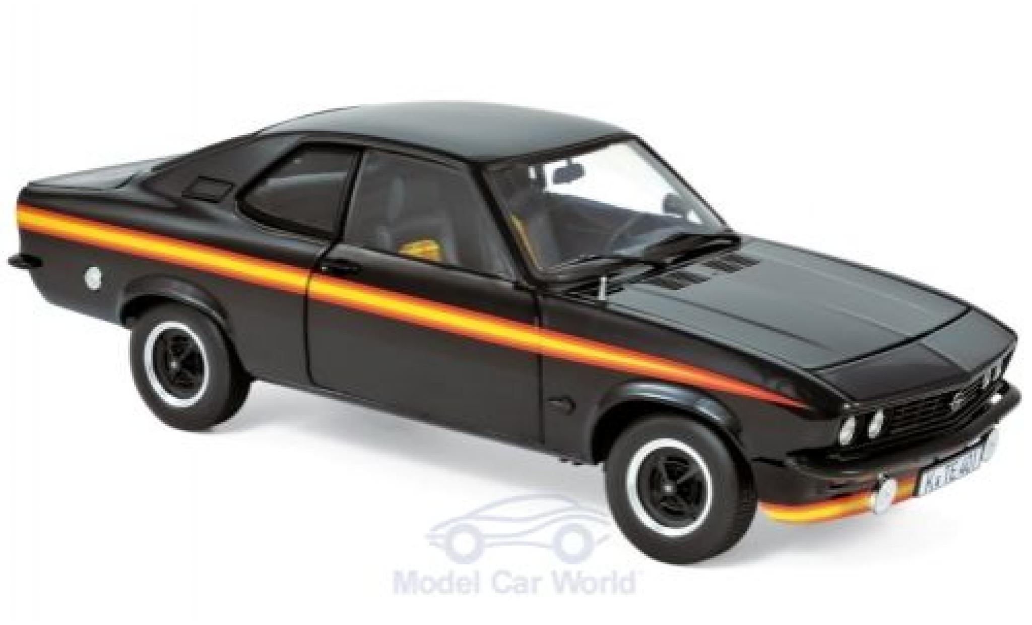 Opel Manta 1/18 Norev A GT/E Black Magic black/Dekor 1975