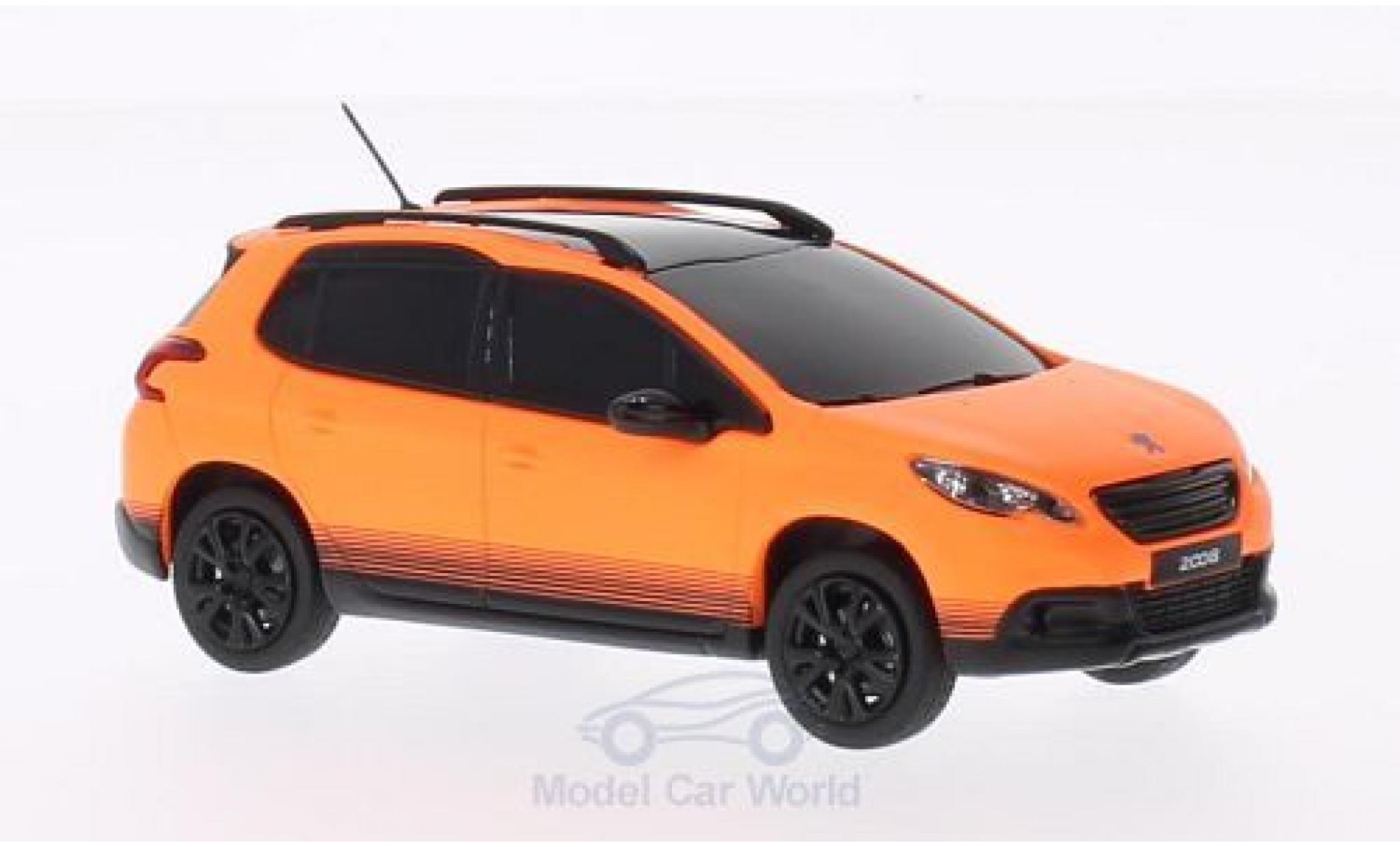 Peugeot 2008 1/43 Norev matt-orange 2013