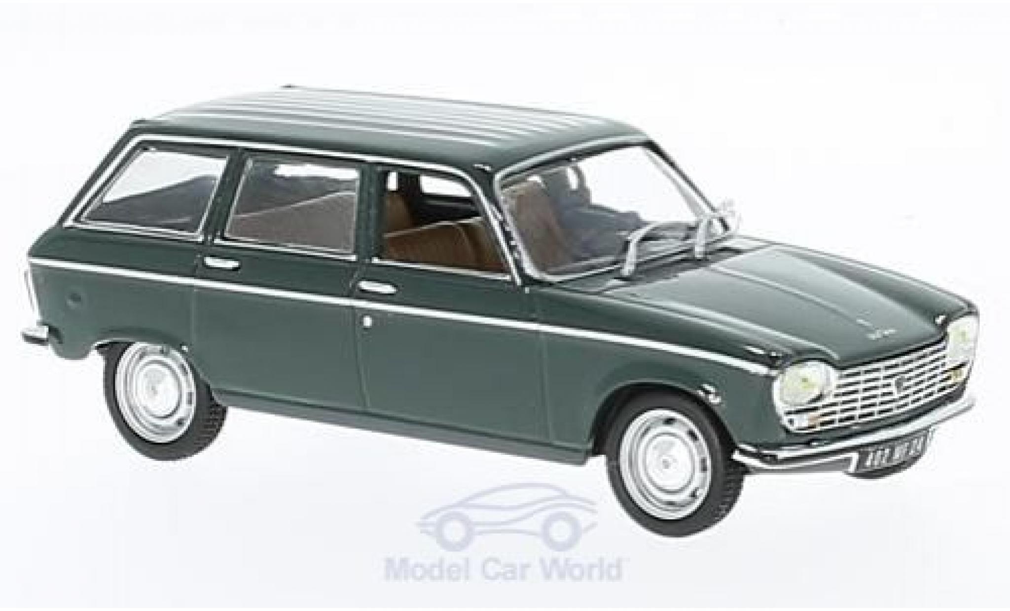 Peugeot 204 Break 1/43 Norev verte 1969
