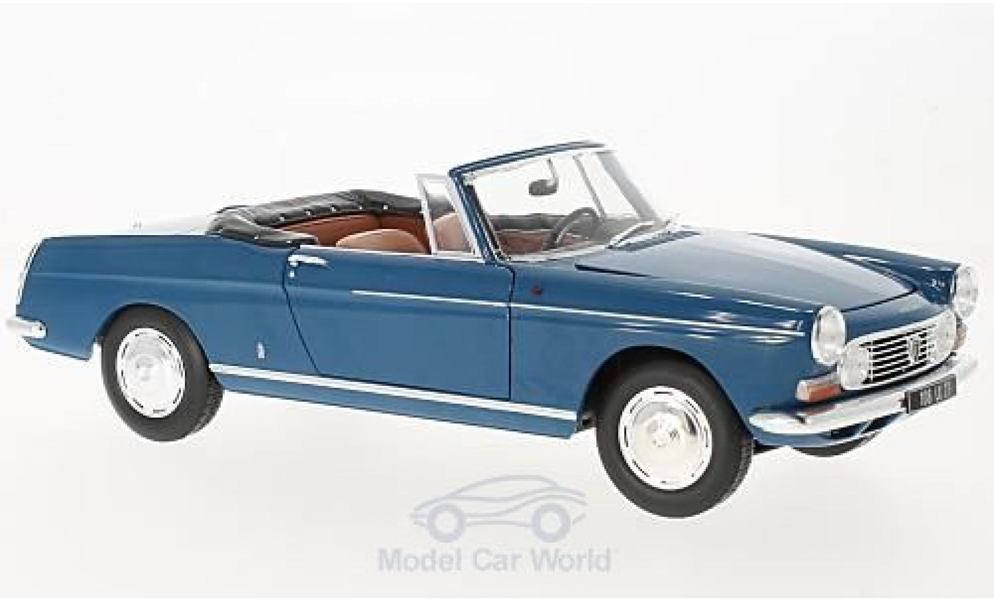 Peugeot 404 Cabriolet 1/18 Norev blue 1967