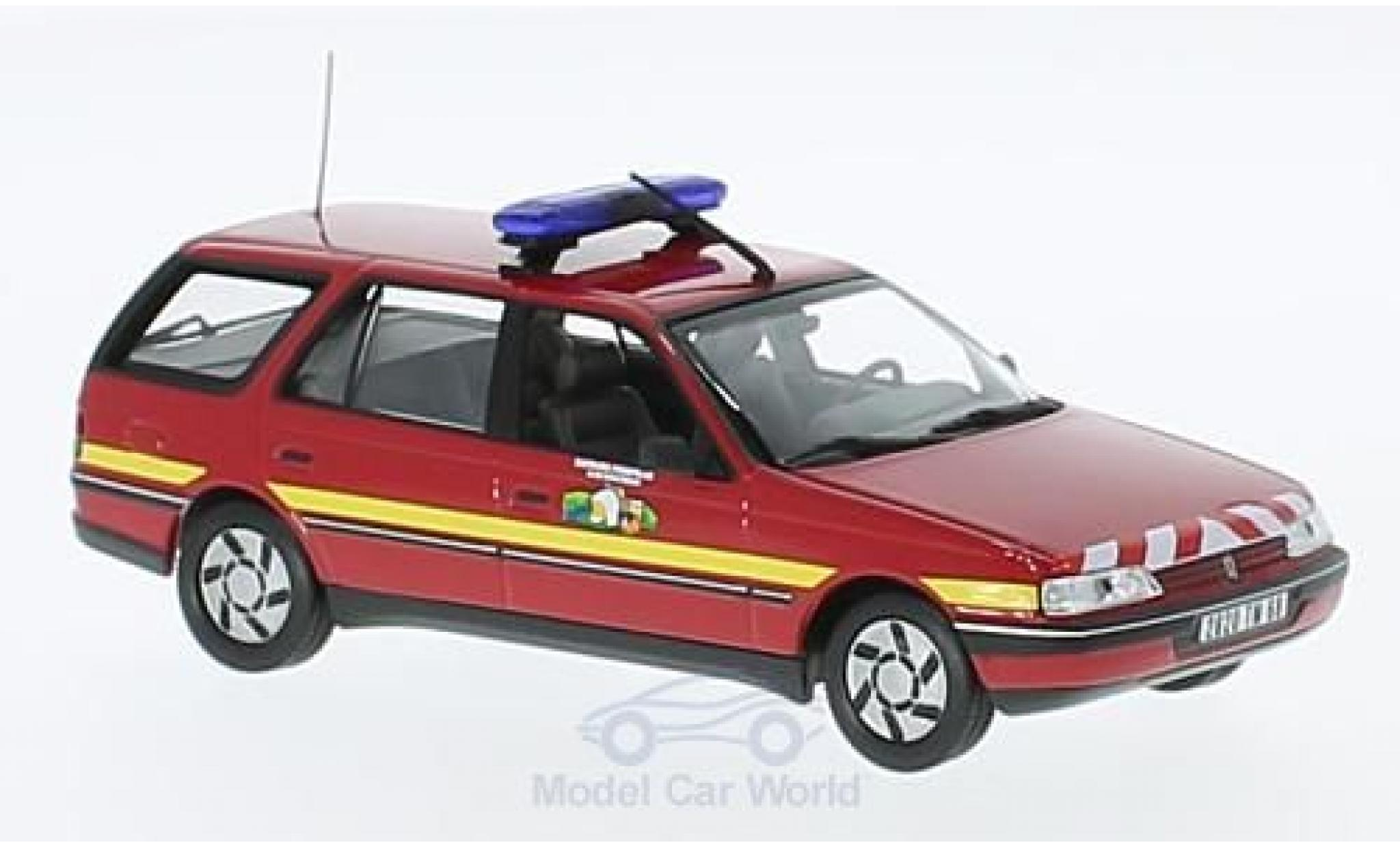 Peugeot 405 1/43 Norev Break Pompiers 1991