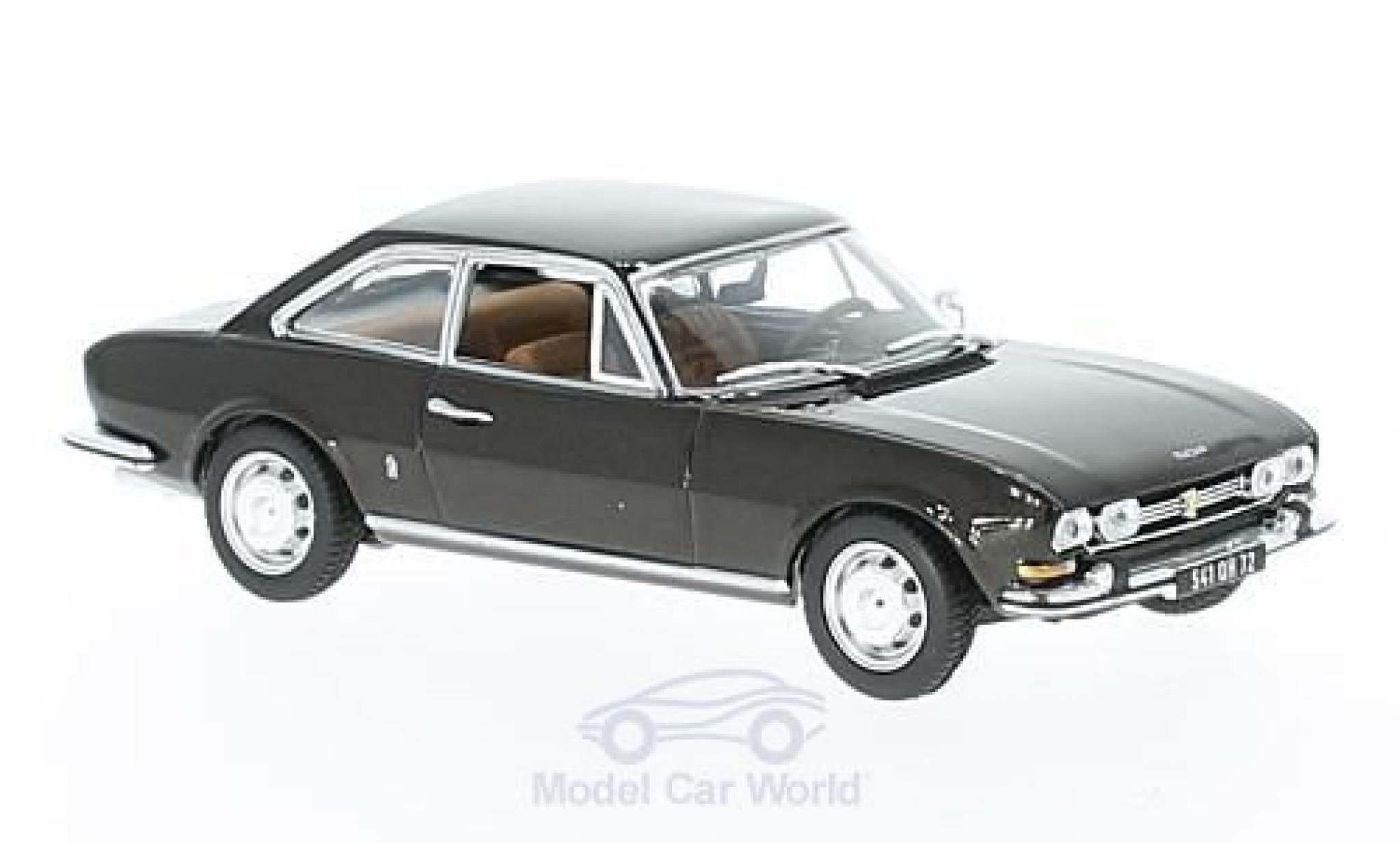 Peugeot 504 coupe 1/43 Norev Coupe métallisé marron 1969