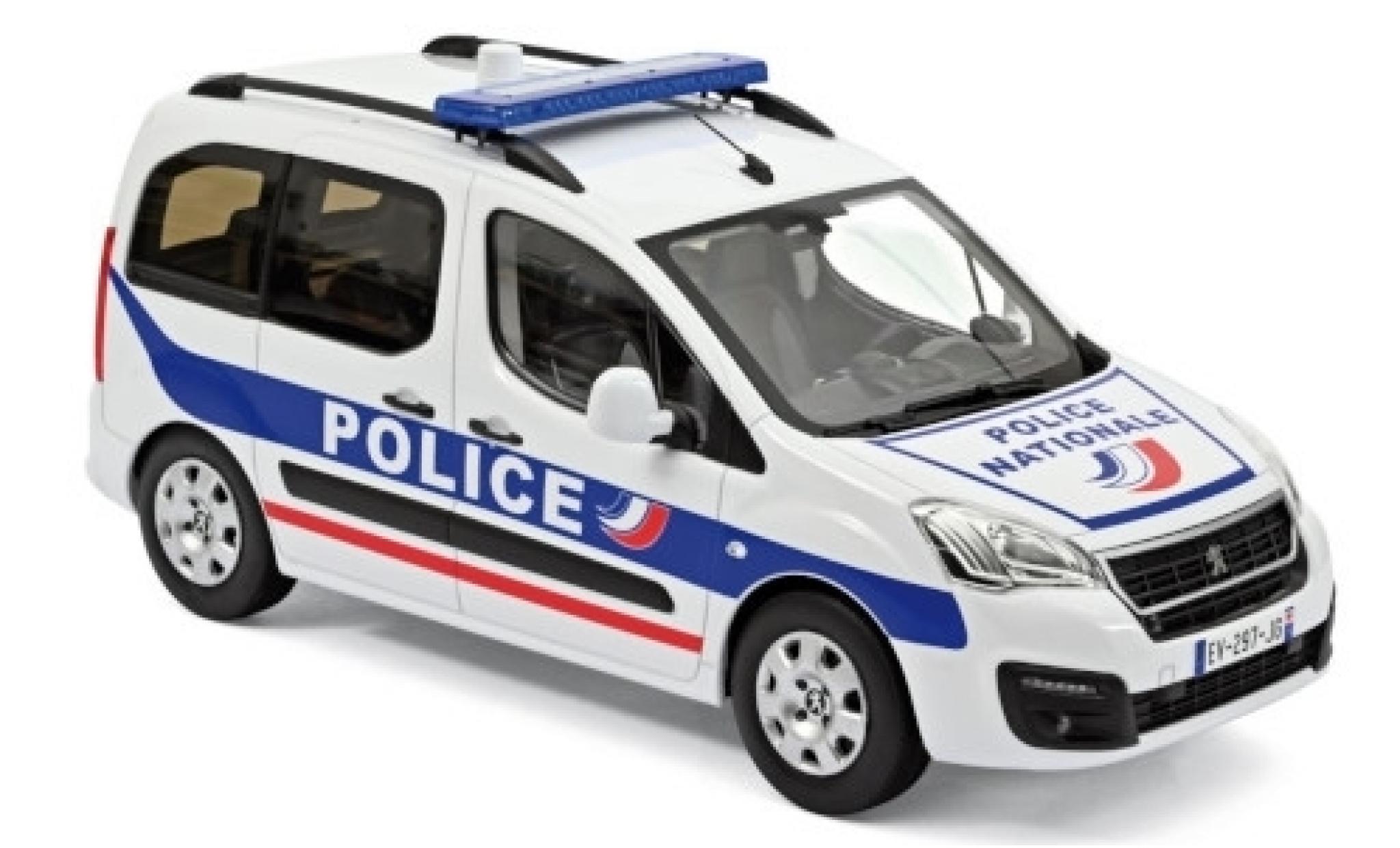 Peugeot Partner 1/18 Norev Police Nationale (F) 2017