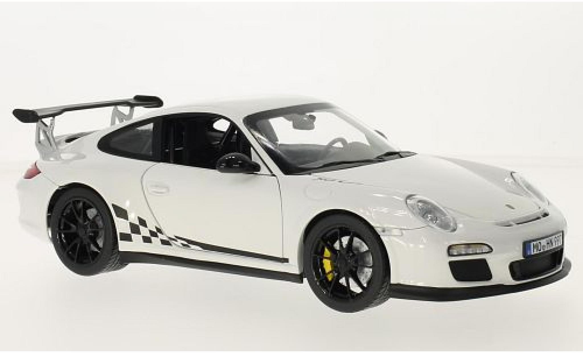 Porsche 997 GT3 RS 1/18 Norev 911 white/Dekor 2010