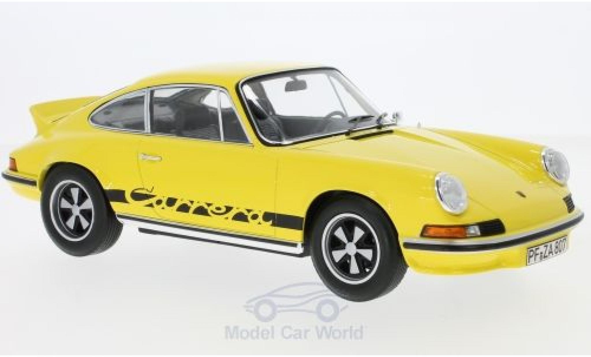 Porsche 911 SC 1/18 Norev  Touring yellow/black 1973