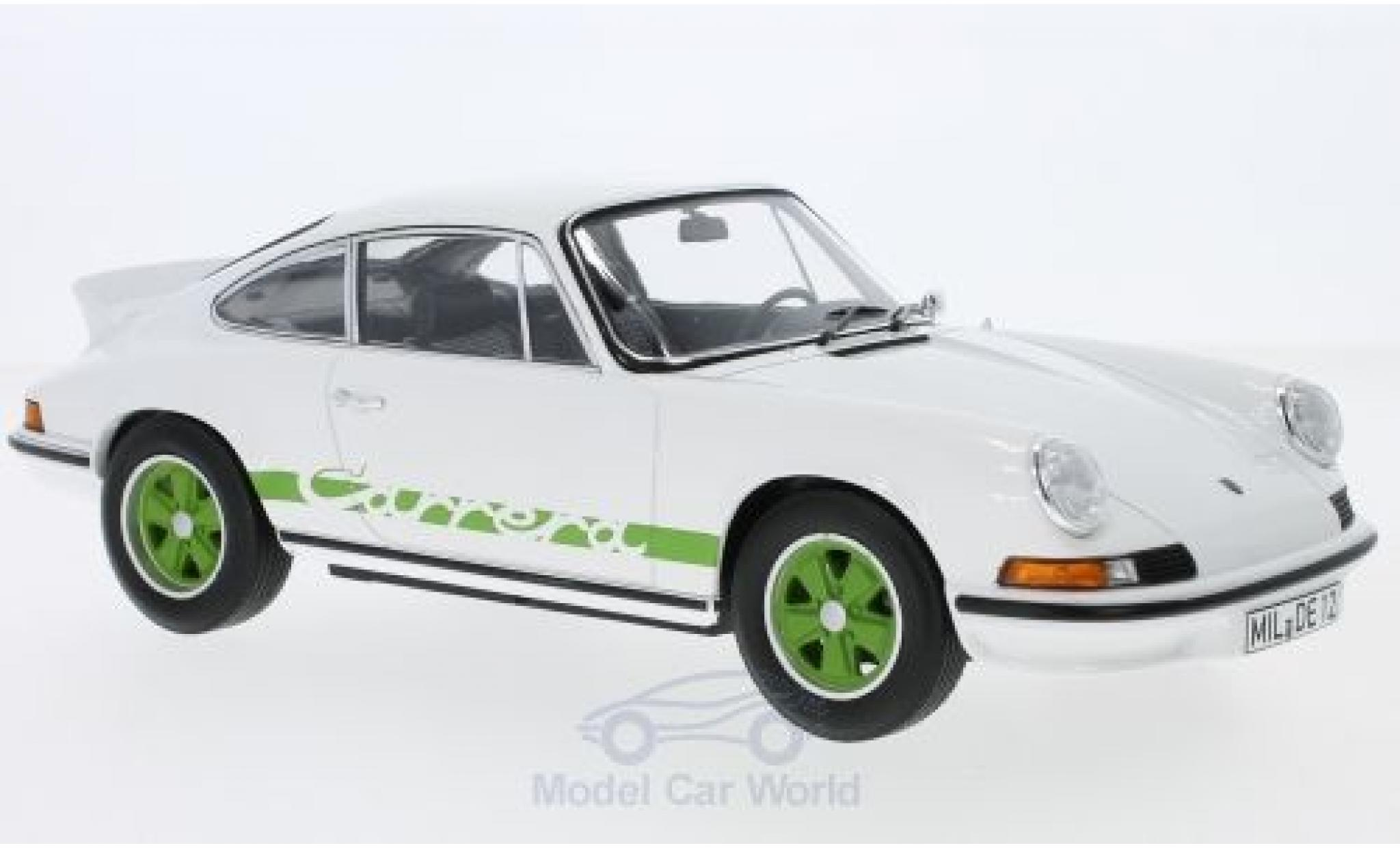 Porsche 911 SC 1/18 Norev RS Touring blanche/verte 1973