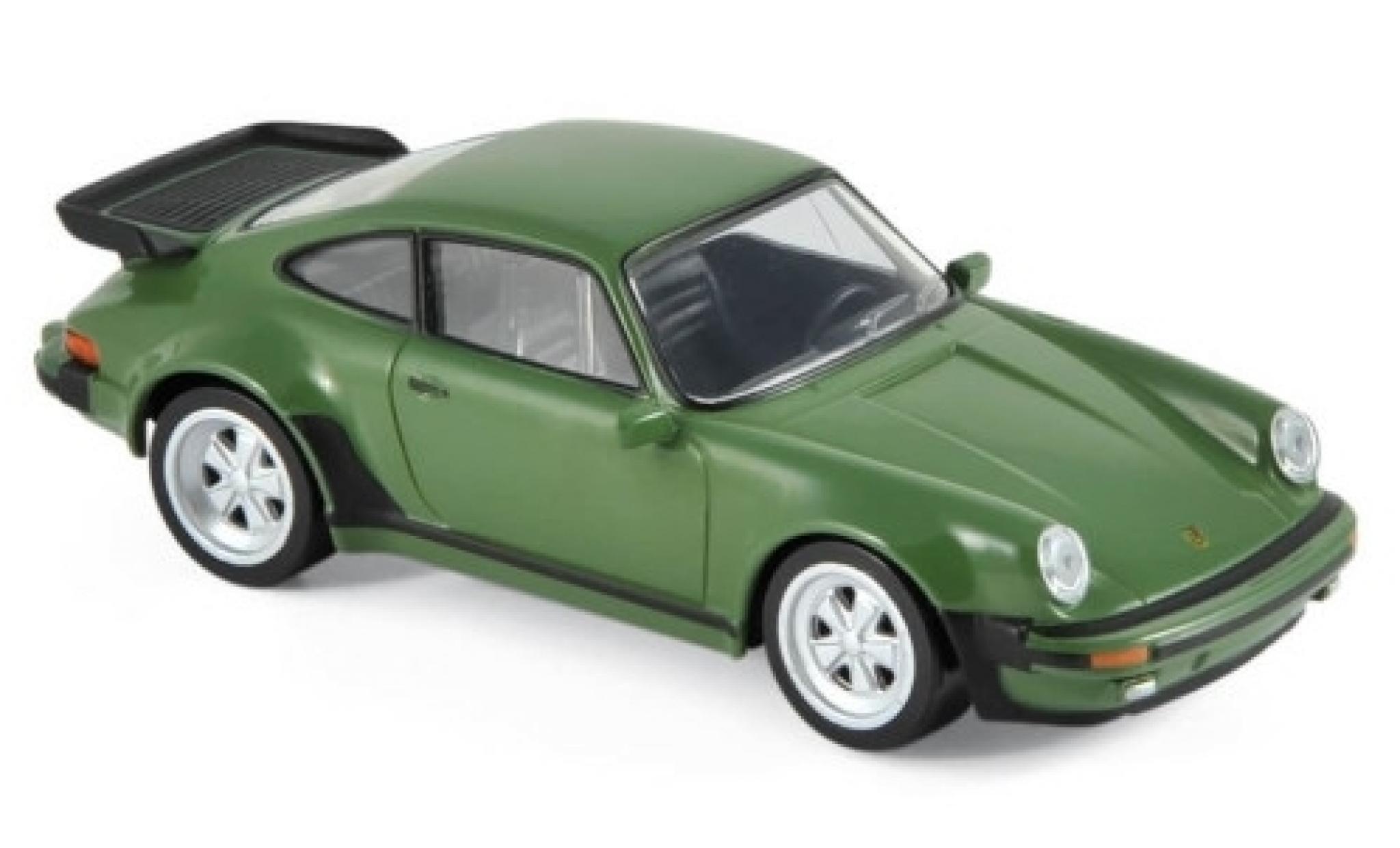 Porsche 930 Turbo 1/43 Norev 911 3.3 verte 1978 Jetcar