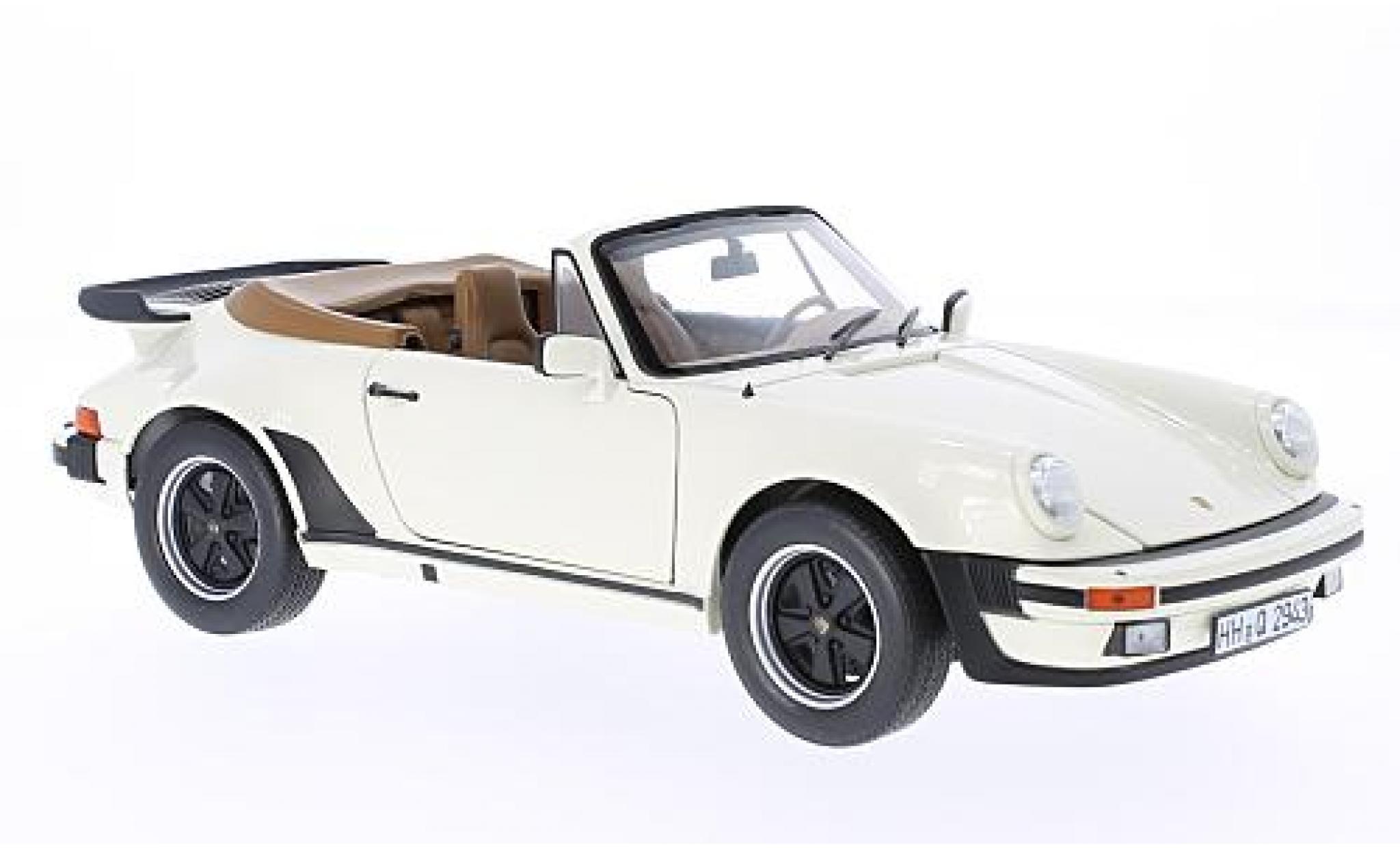 Porsche 930 Turbo 1/18 Norev 911 Cabriolet beige 1987