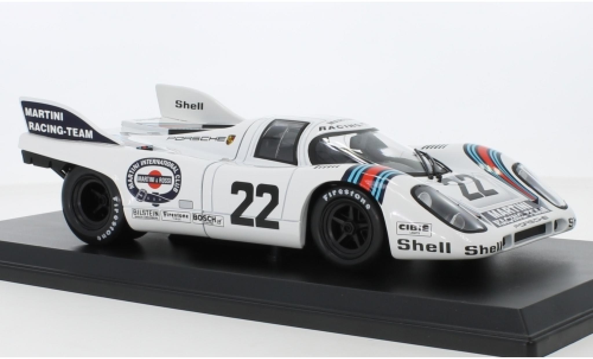 Porsche 917 1971 1/18 Norev K No.22 Martini Racing Team 24h Le Mans H.Marko/G.van Lennep