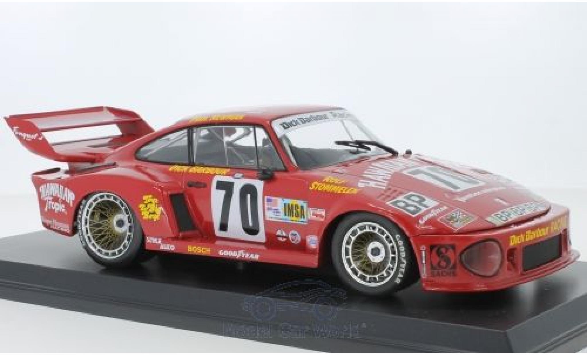Porsche 935 1/18 Norev No.70 Hawaiian Tropic 24h Le Mans 1979 P.Newman/D.Barbour/R.Stommelen