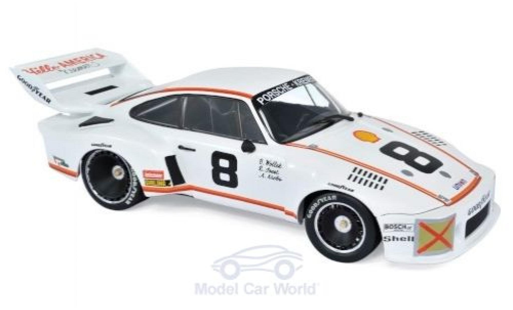 Porsche 935 1/18 Norev No.8 Kremer 24h Daytona 1977 R.Joest/B.Wollek/A.Krebs