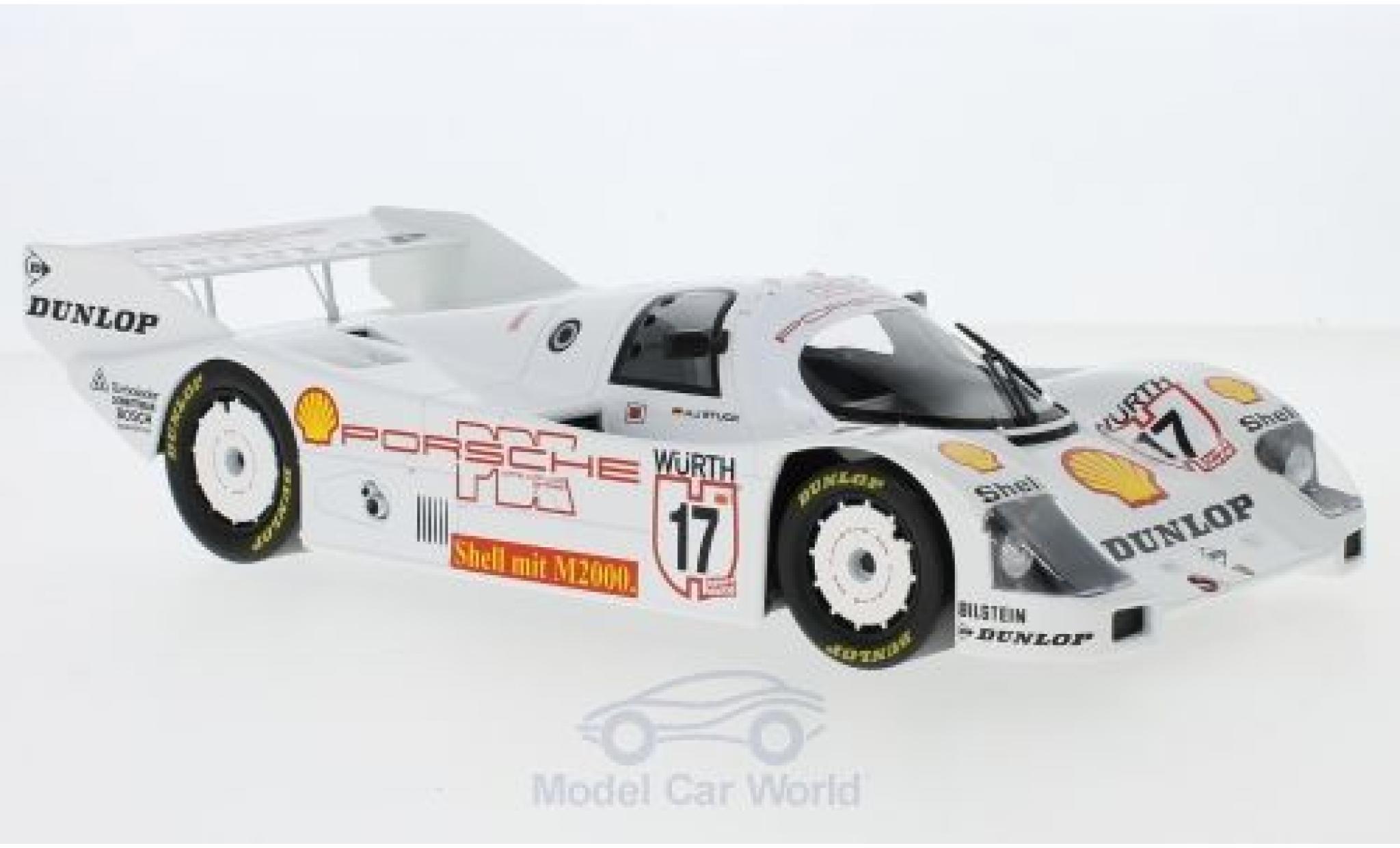 Porsche 962 1987 1/18 Norev C No.17 Supercup Nürburgring H-J.Stuck