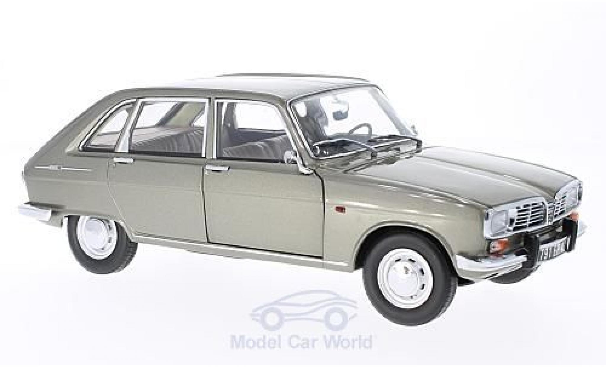 Renault 16 1/18 Norev metallic-grise 1968