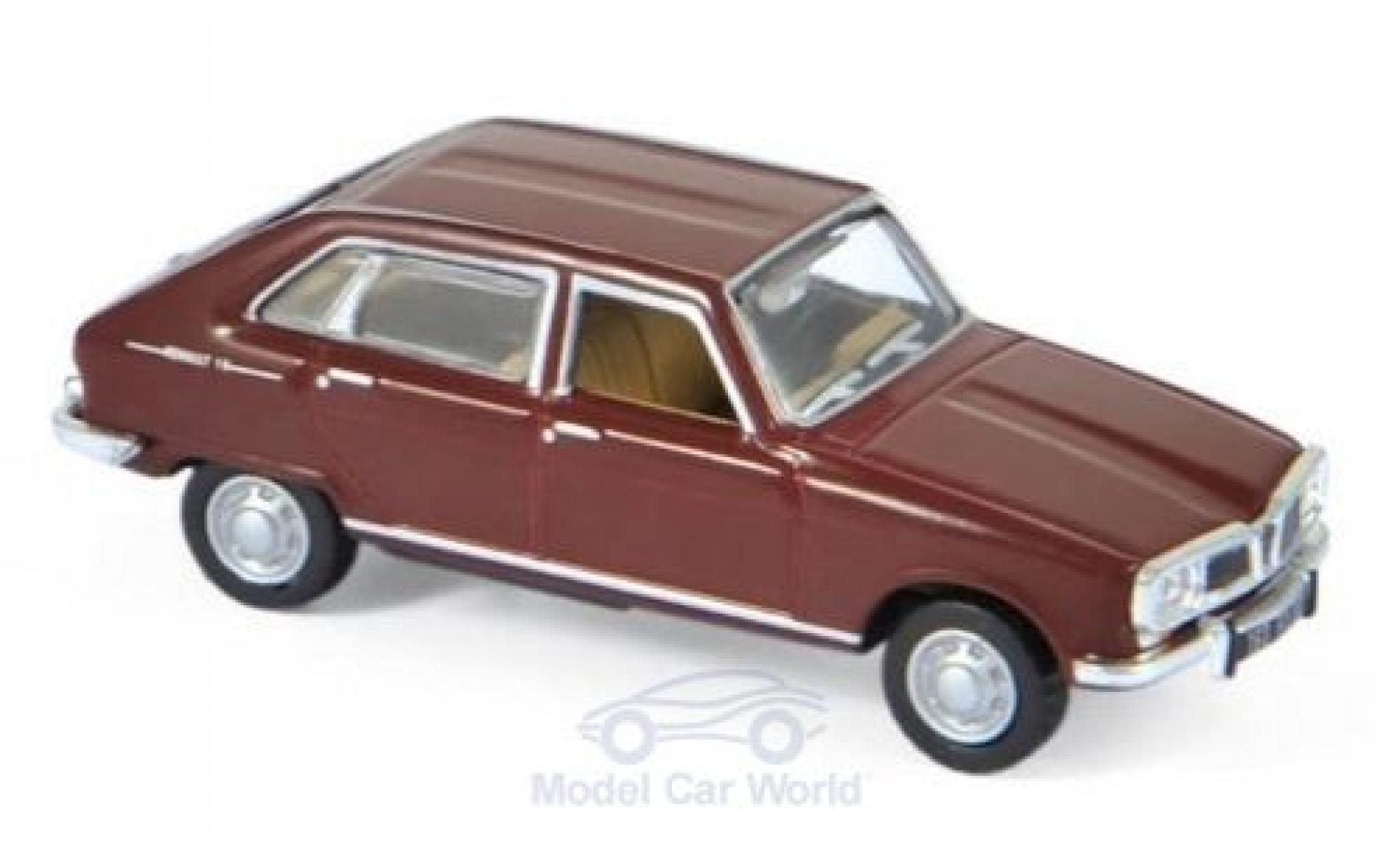 Renault 16 1/87 Norev Super rouge 1966