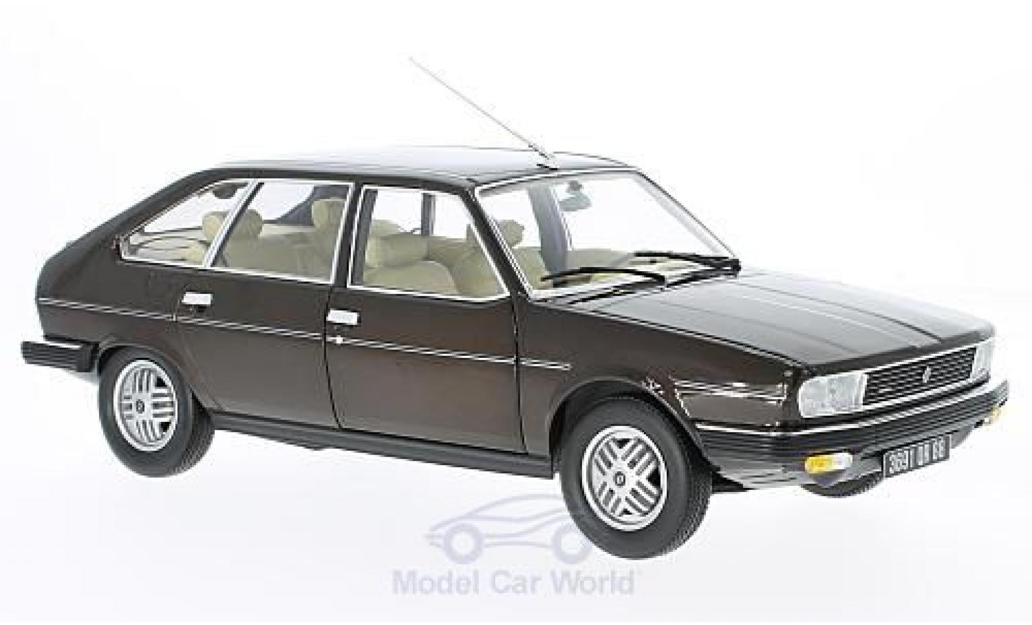 Renault 30 1/18 Norev TX metallise marron 1981