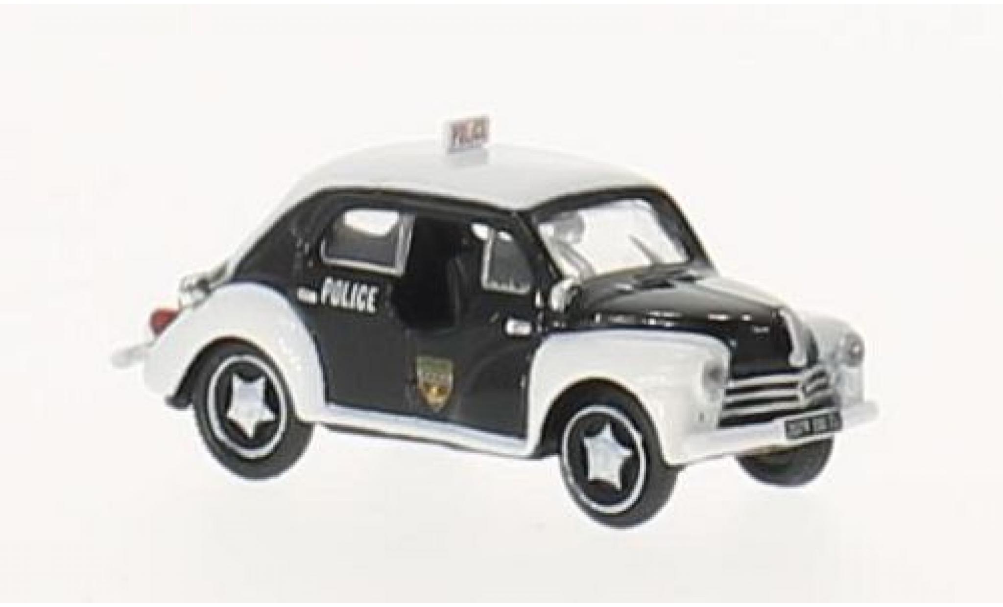 Renault 4 1/87 Norev CV Police 1955