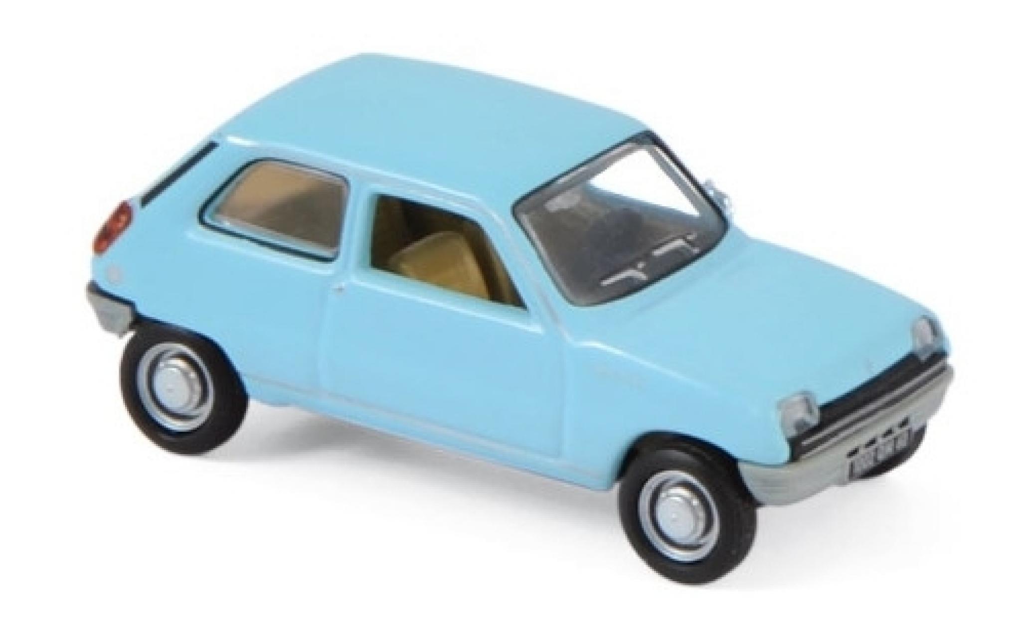 Renault 5 1/87 Norev bleue 1972