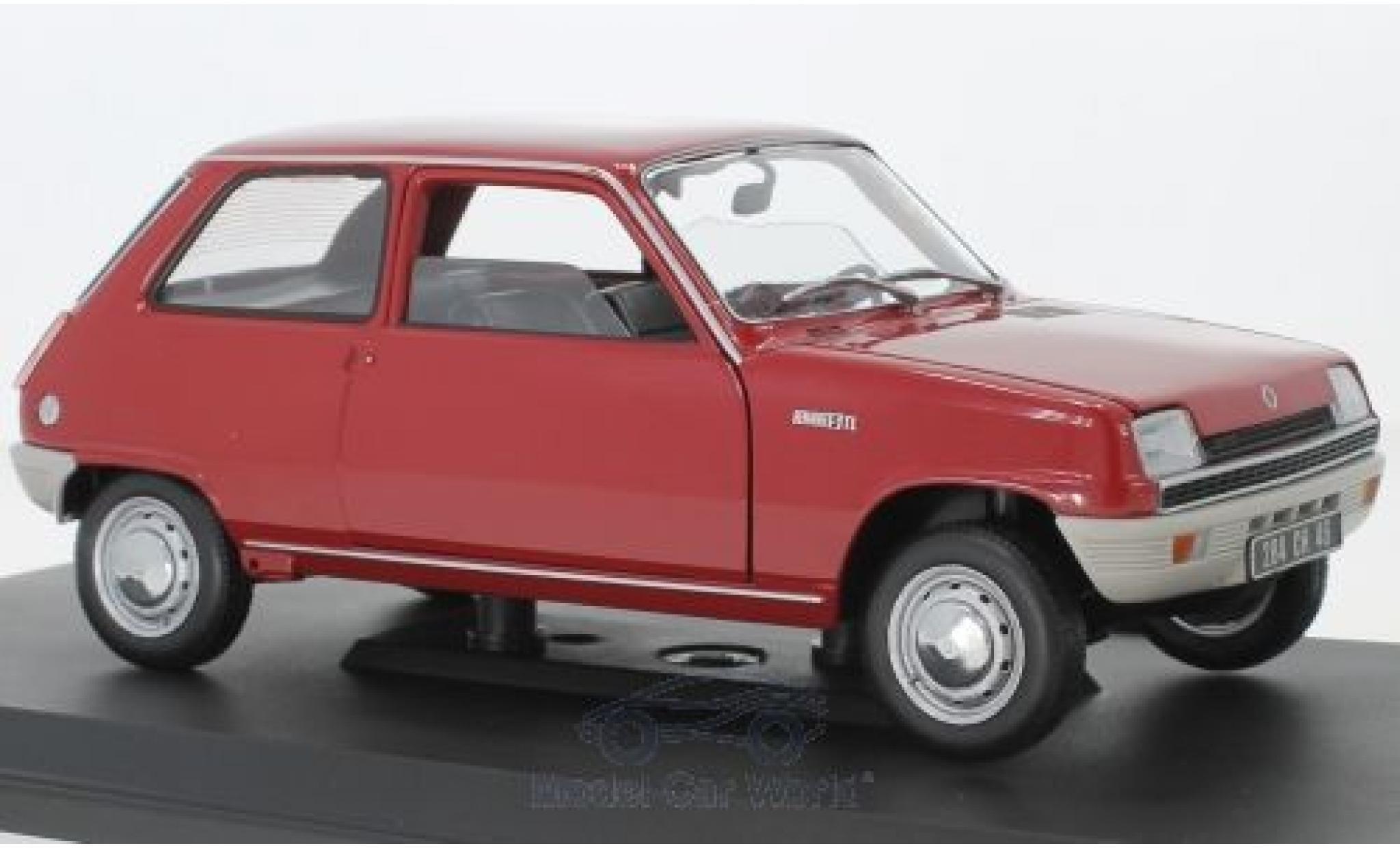 Renault 5 1/18 Norev rouge 1972
