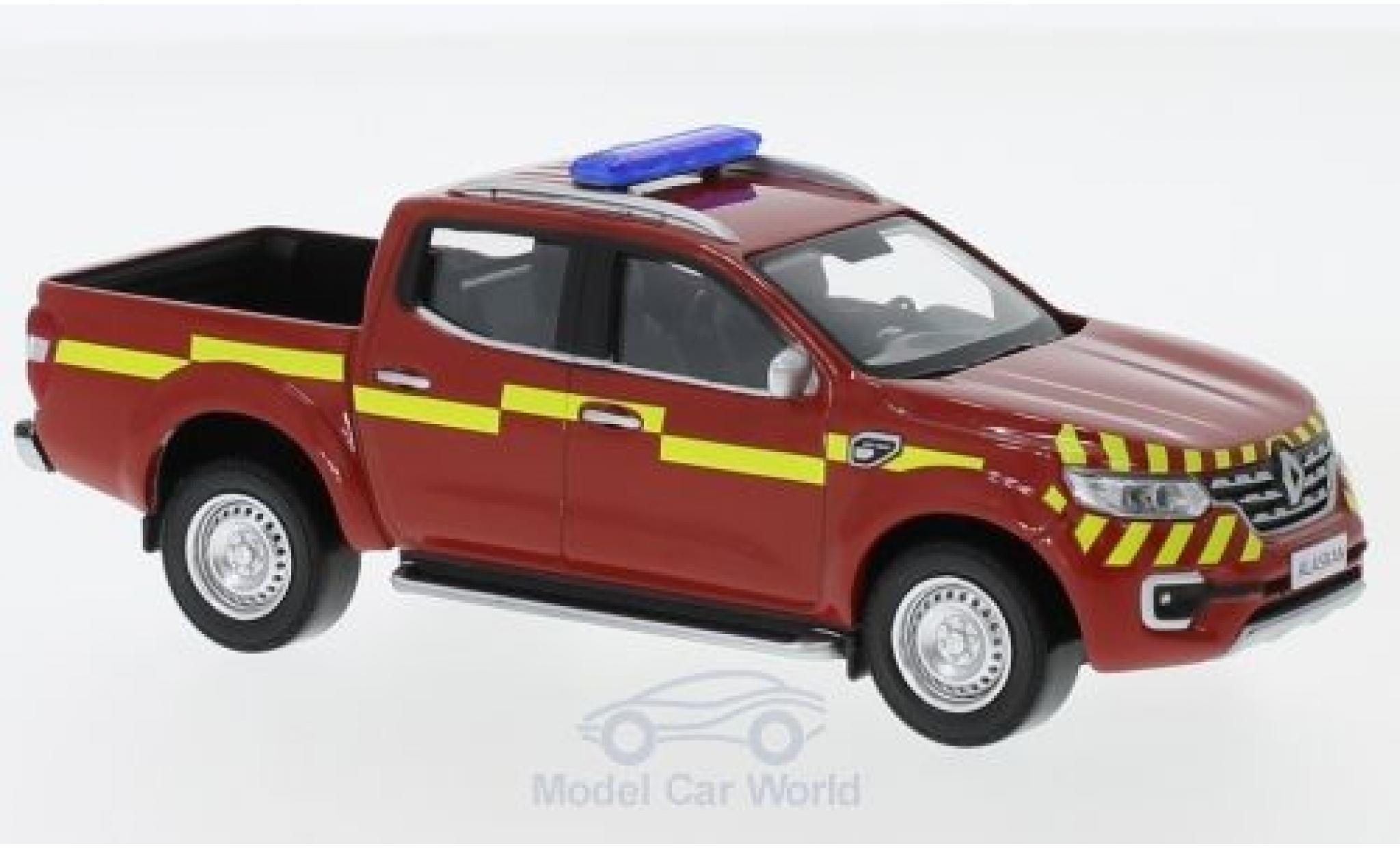 Renault Alaskan 1/43 Norev Pick Up Pompiers (F) 2017